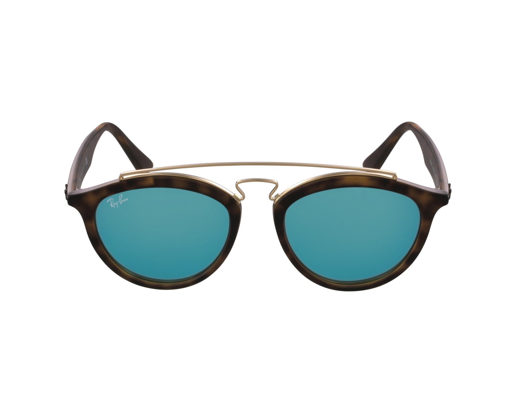 1d611edb03 Sunglasses Ray-Ban RB-4257 6092 55 50-19 Havana Gold profile