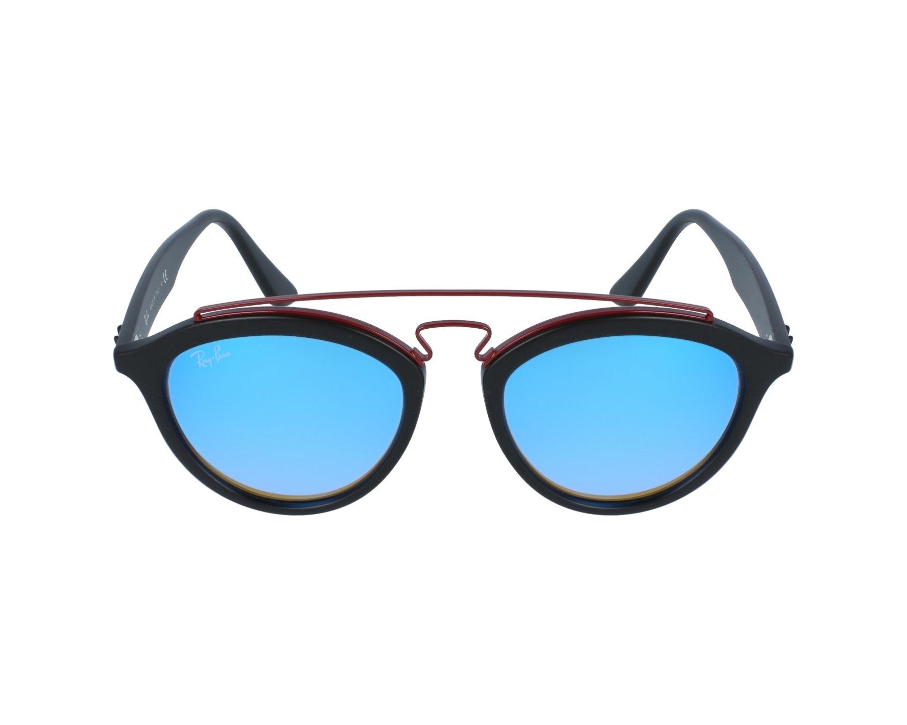 c650b5c3af6 Sunglasses Ray-Ban RB-4257 6252 B7 50-19 Black Bordeaux profile