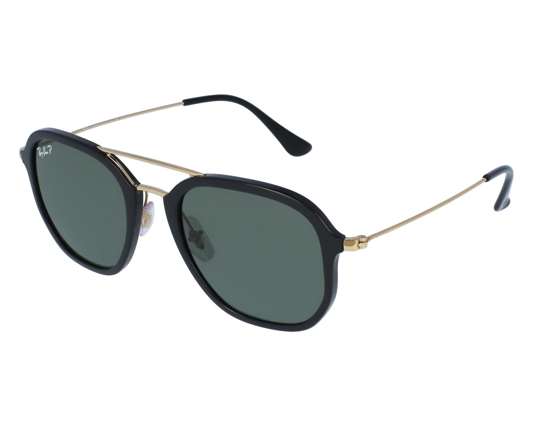 30be235d39a Sunglasses Ray-Ban RB-4273 601 9A 52-21 Black Gold front