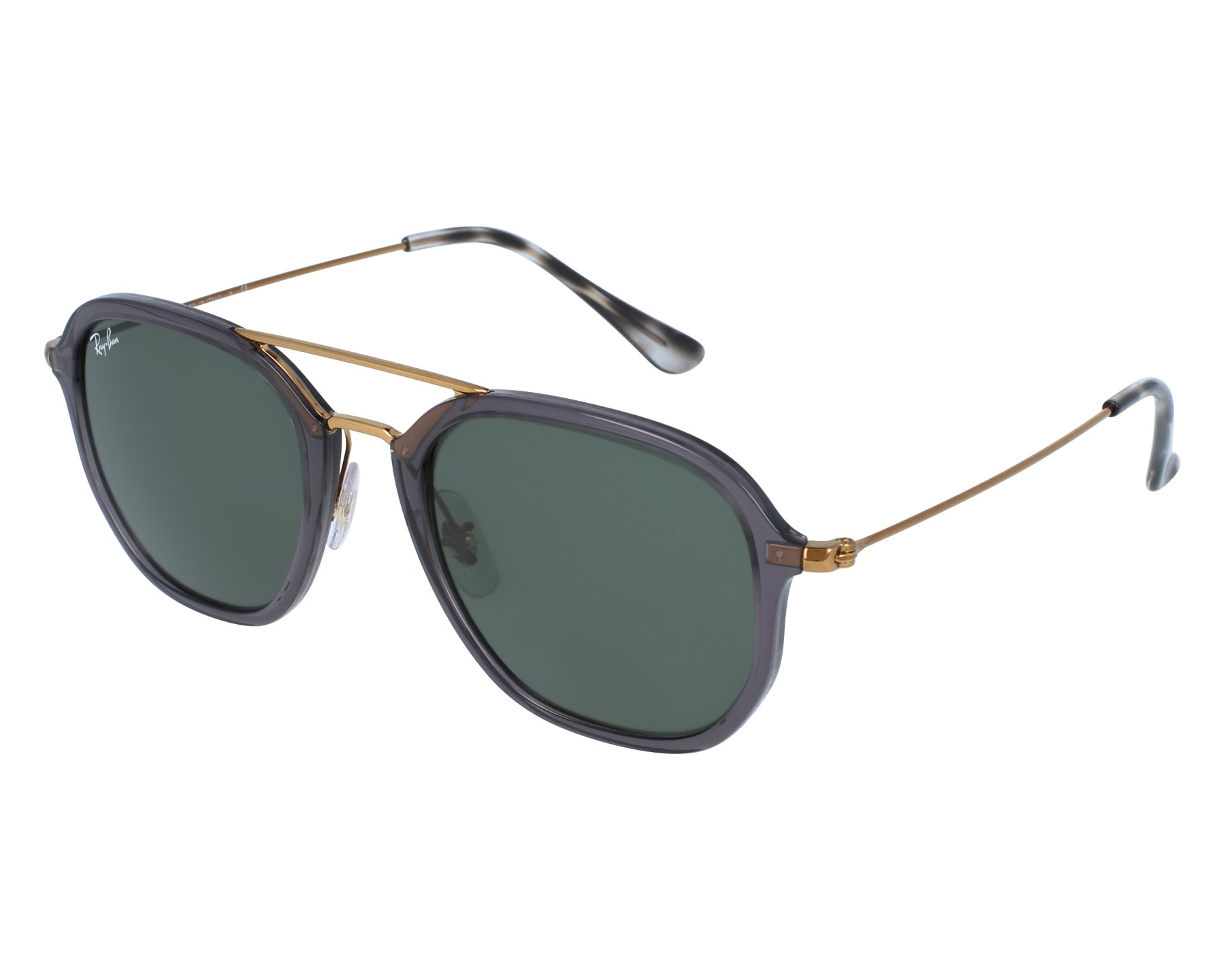 28efcc17fa Sunglasses Ray-Ban RB-4273 6237 52-21 Black Gold front view