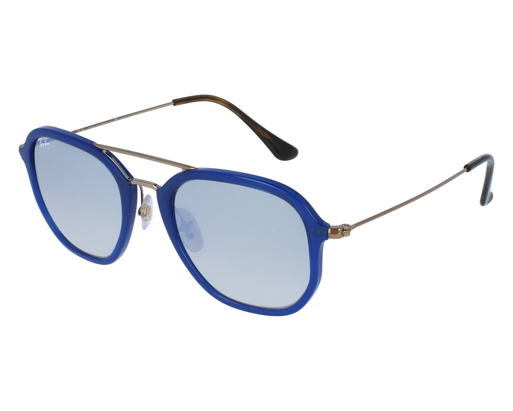 0da4d3eb46 Sunglasses Ray-Ban RB-4273 6259 9U 52-21 Blue denim Gun