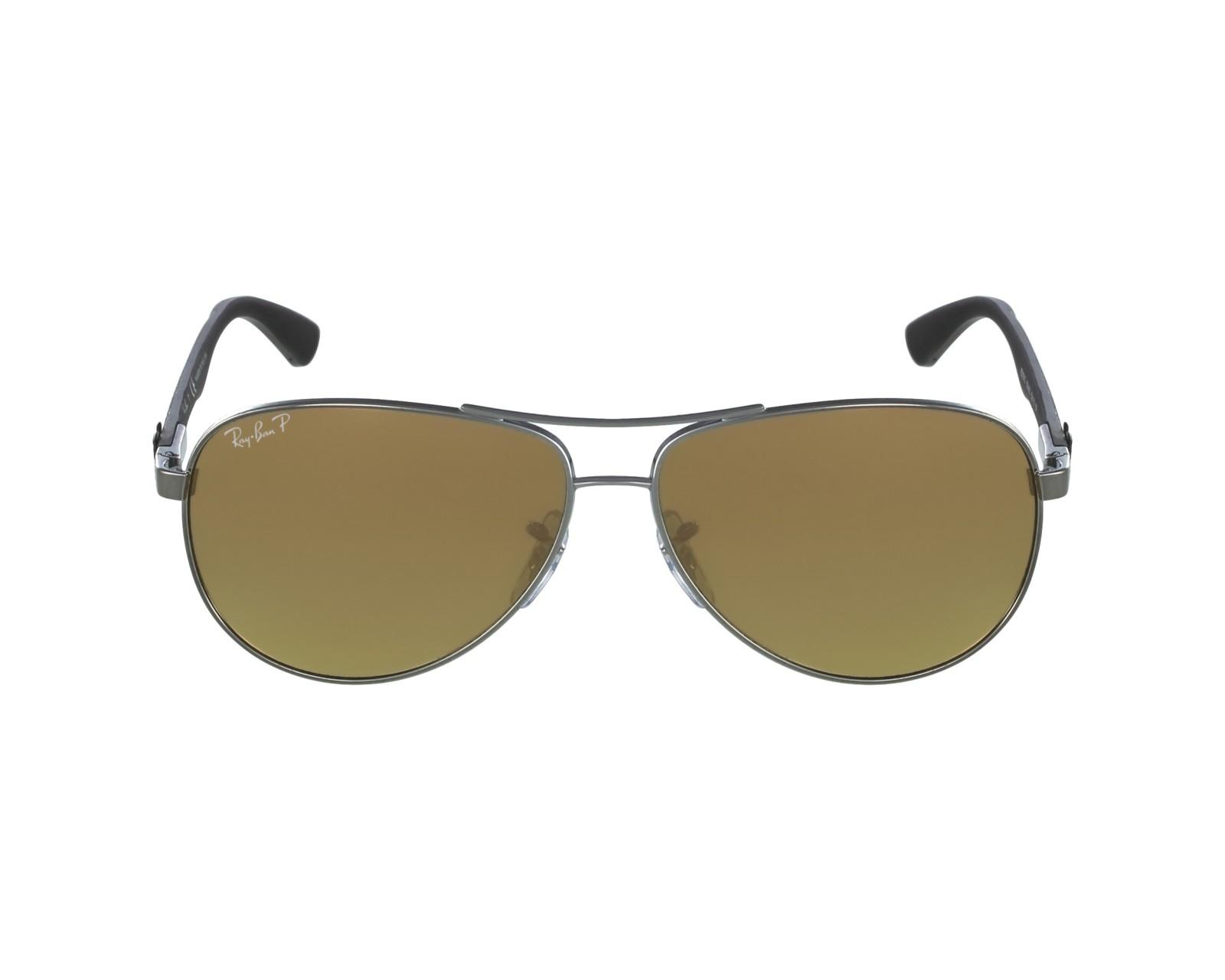 a748d259e6 thumbnail Sunglasses Ray-Ban RB-8313 004 N3 61-13 Gun Carbon