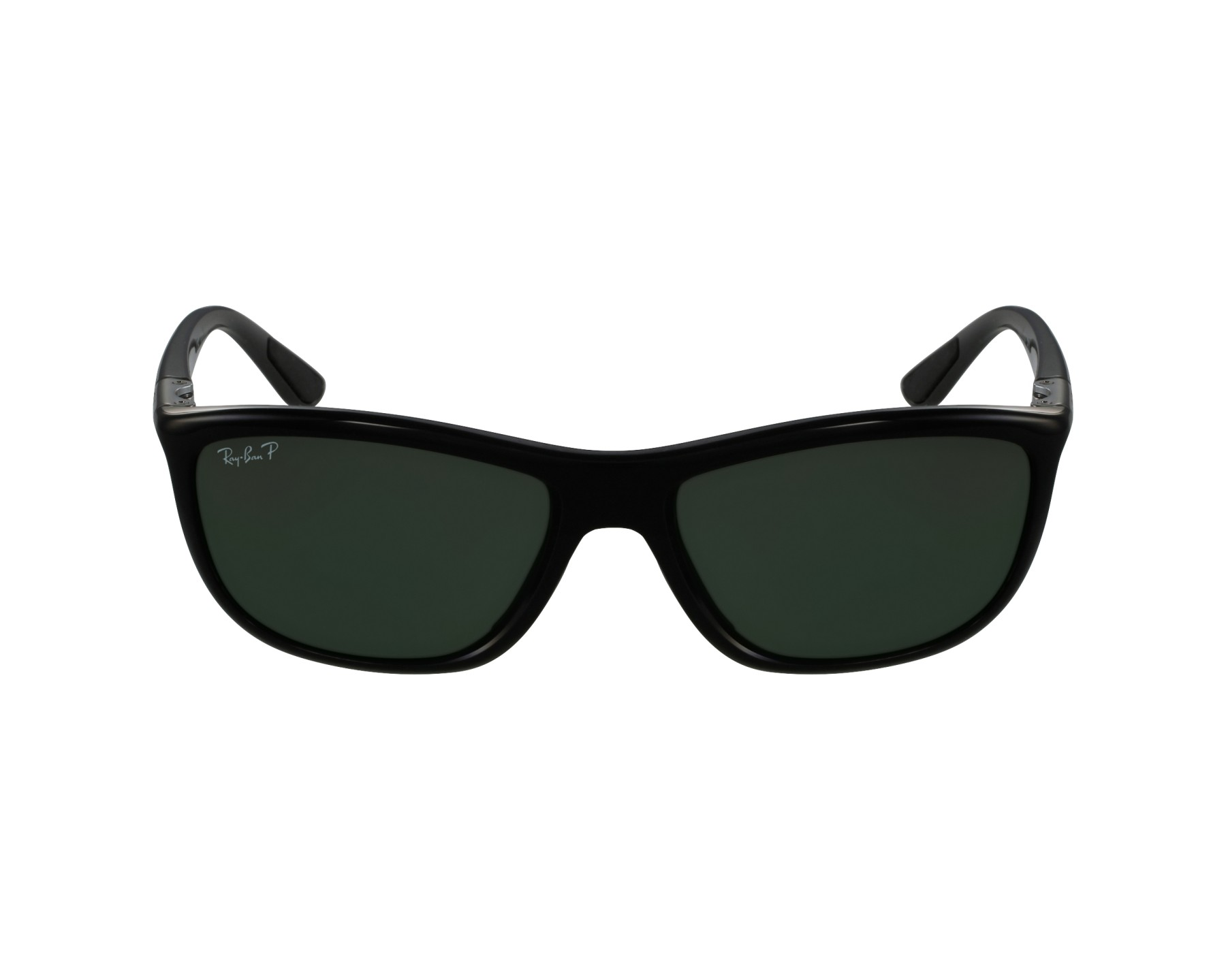 38c56f3f500 Sunglasses Ray-Ban RB-8351 6219 9A 60-17 Black Gun profile
