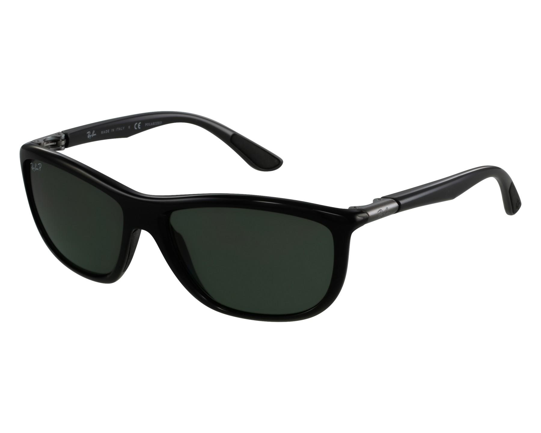 464460a44b0 Sunglasses Ray-Ban RB-8351 6219 9A 60-17 Black Gun front
