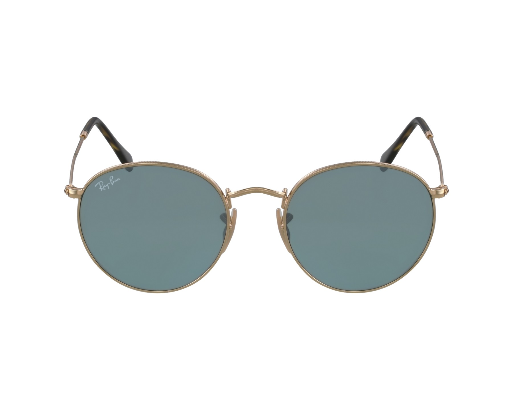 4e397c81a2 Sunglasses Ray-Ban RB-3447-N 001 30 - Gold profile view
