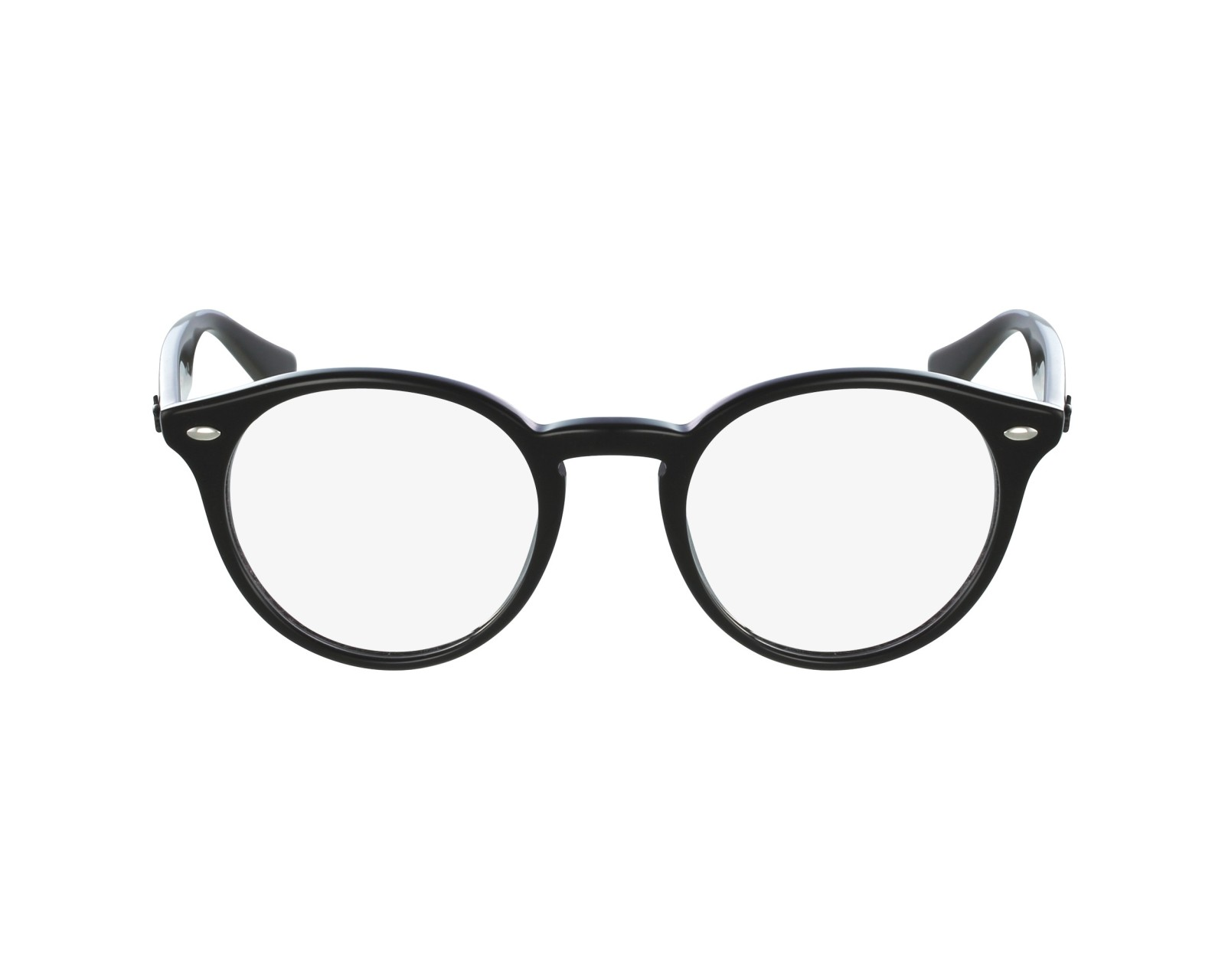 3f0ef0eb7c5 eyeglasses Ray-Ban RX-2180-V 2000 47-21 Black profile view