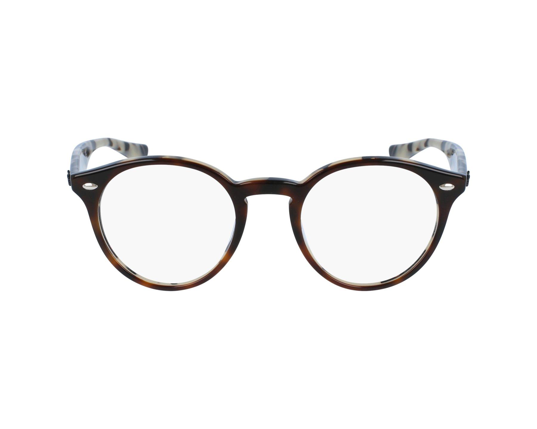 ffca5c23bd eyeglasses Ray-Ban RX-2180-V 5676 47-21 Havana Brown profile