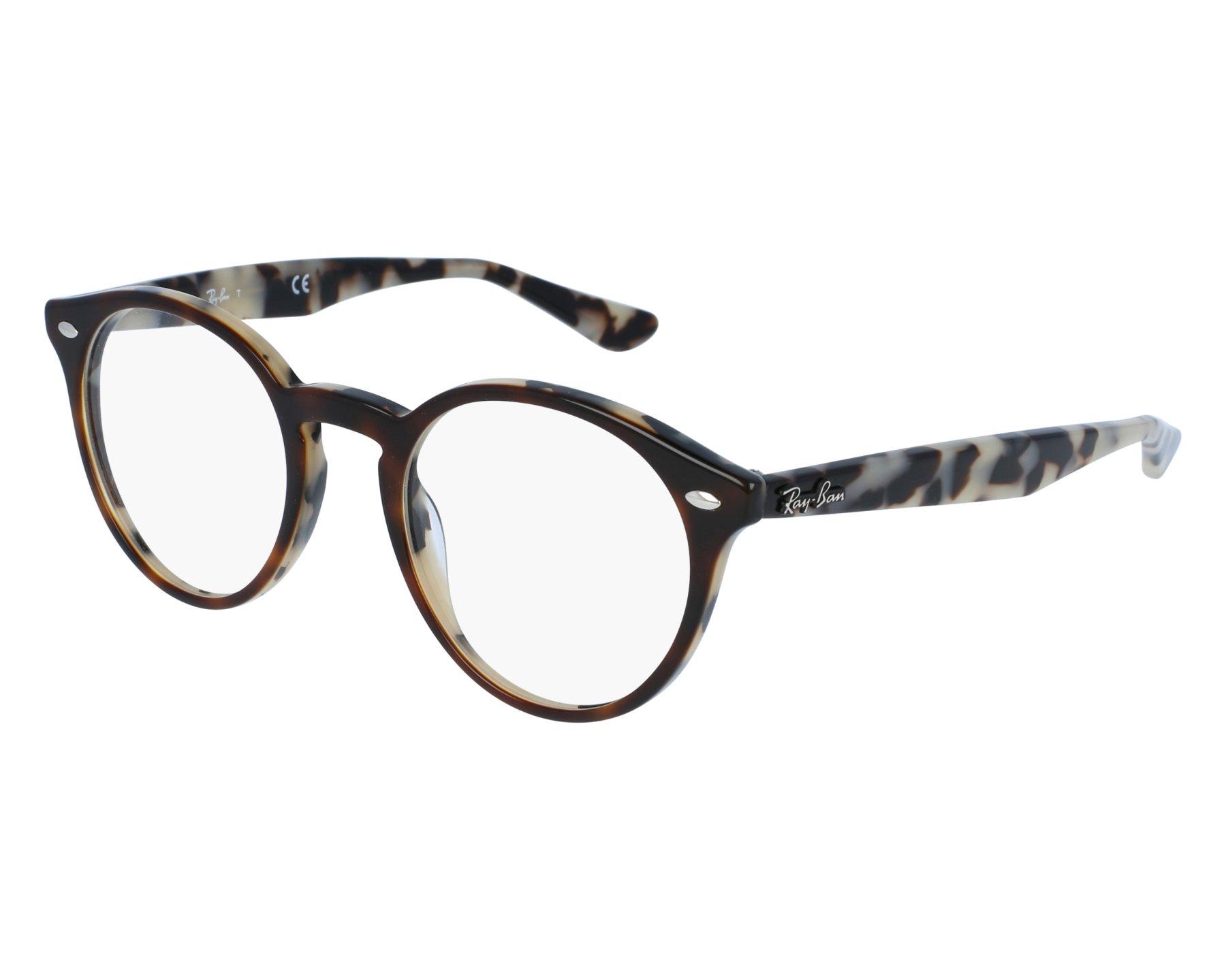 c33b32dcc02 eyeglasses Ray-Ban RX-2180-V 5676 47-21 Havana Brown front