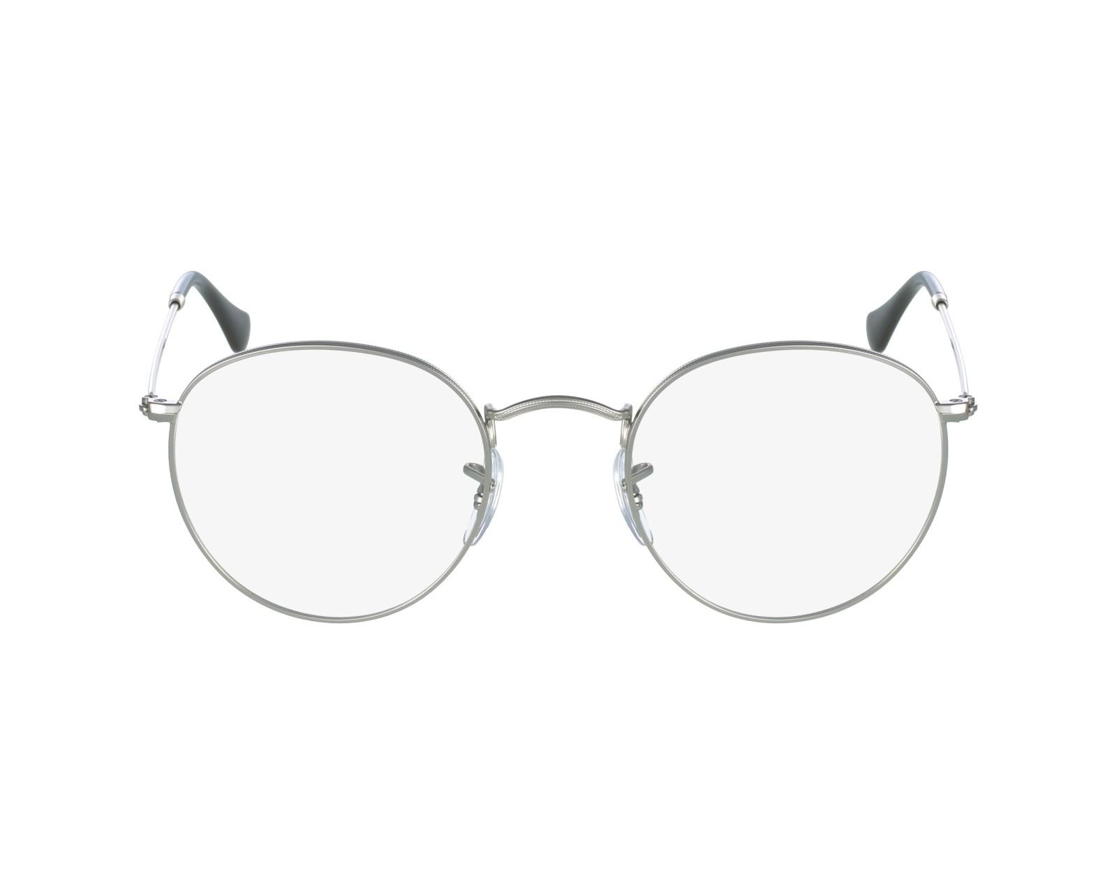 07edf12f6c8 thumbnail eyeglasses Ray-Ban RX-3447-V 2538 - Silver profile view