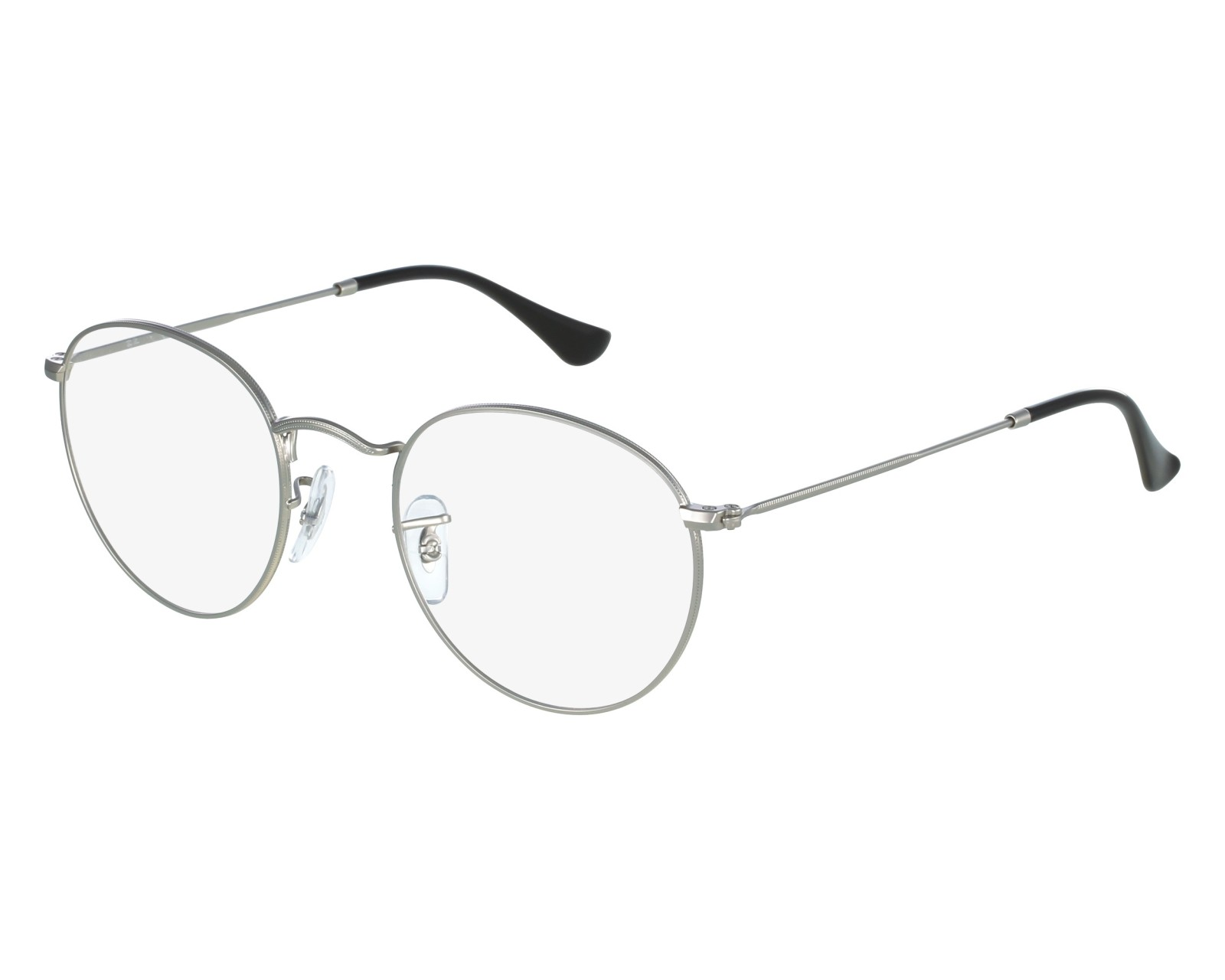 161d6de8df1 thumbnail eyeglasses Ray-Ban RX-3447-V 2538 - Silver front view