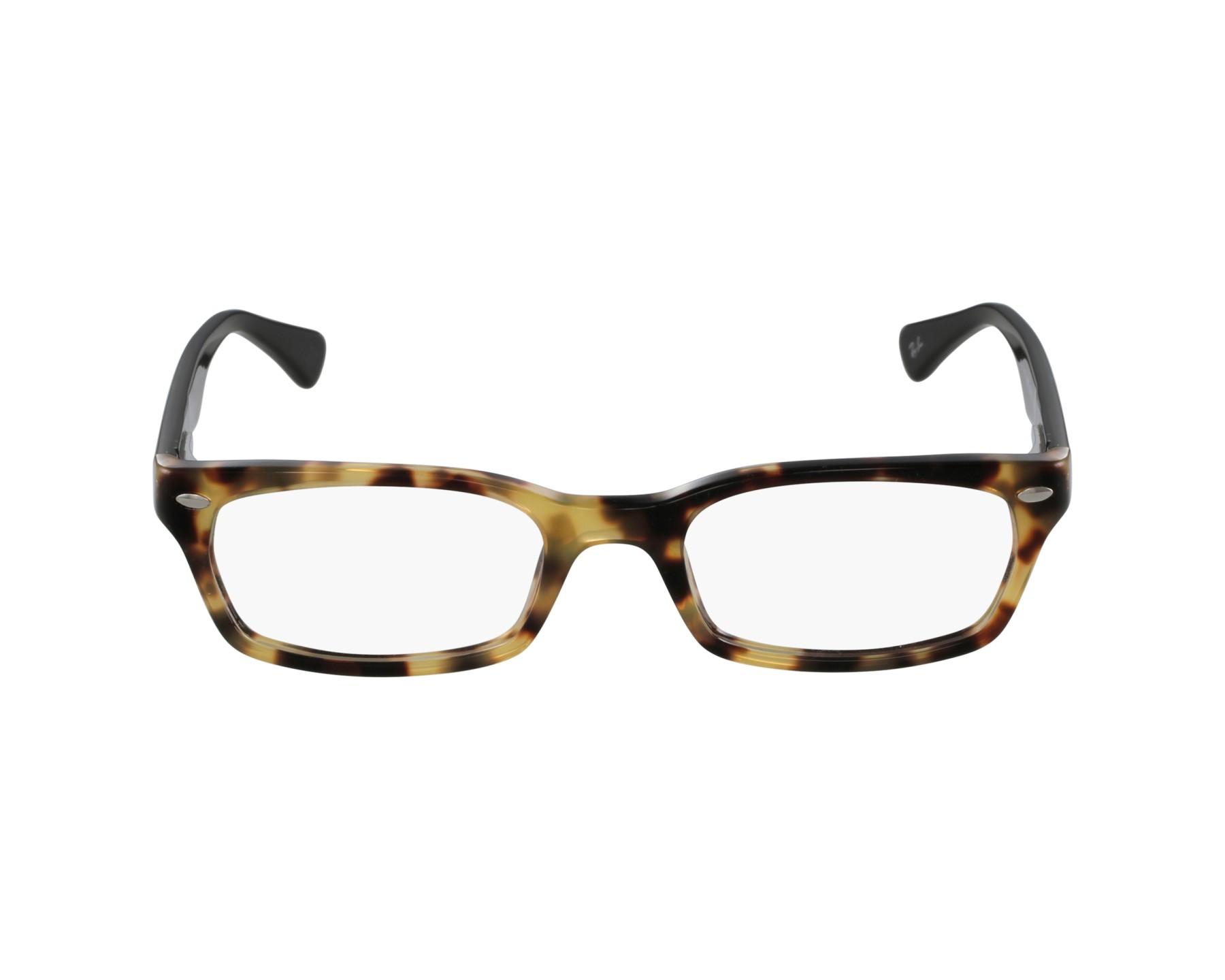 c6facd1a77 eyeglasses Ray-Ban RX-5150 5608 50-19 Havana Honey Black profile view