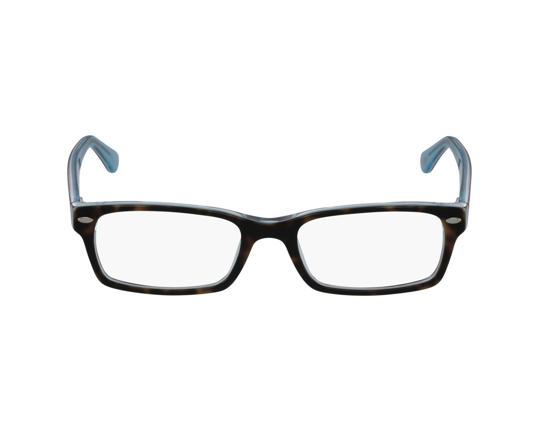 e6226fffb5 eyeglasses Ray-Ban RX-5206 5023 52-18 Havana Blue profile view