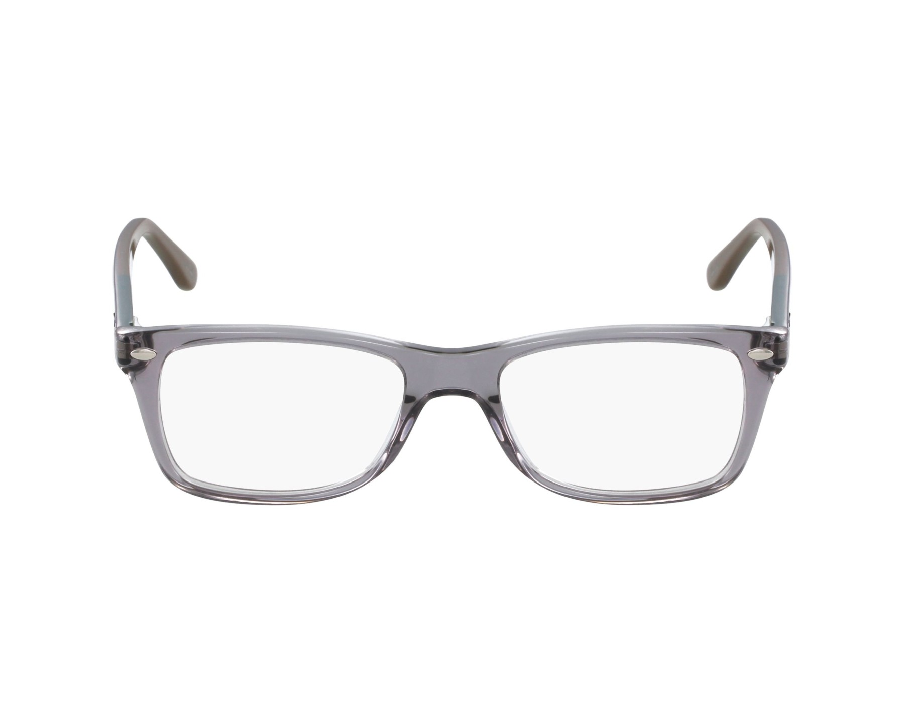 bd1f1535f98 eyeglasses Ray-Ban RX-5228 5546 53-17 Grey Blue profile view