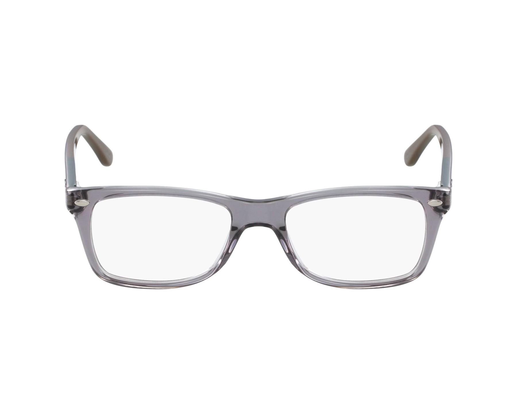 6014855e86 eyeglasses Ray-Ban RX-5228 5546 53-17 Grey Blue profile view