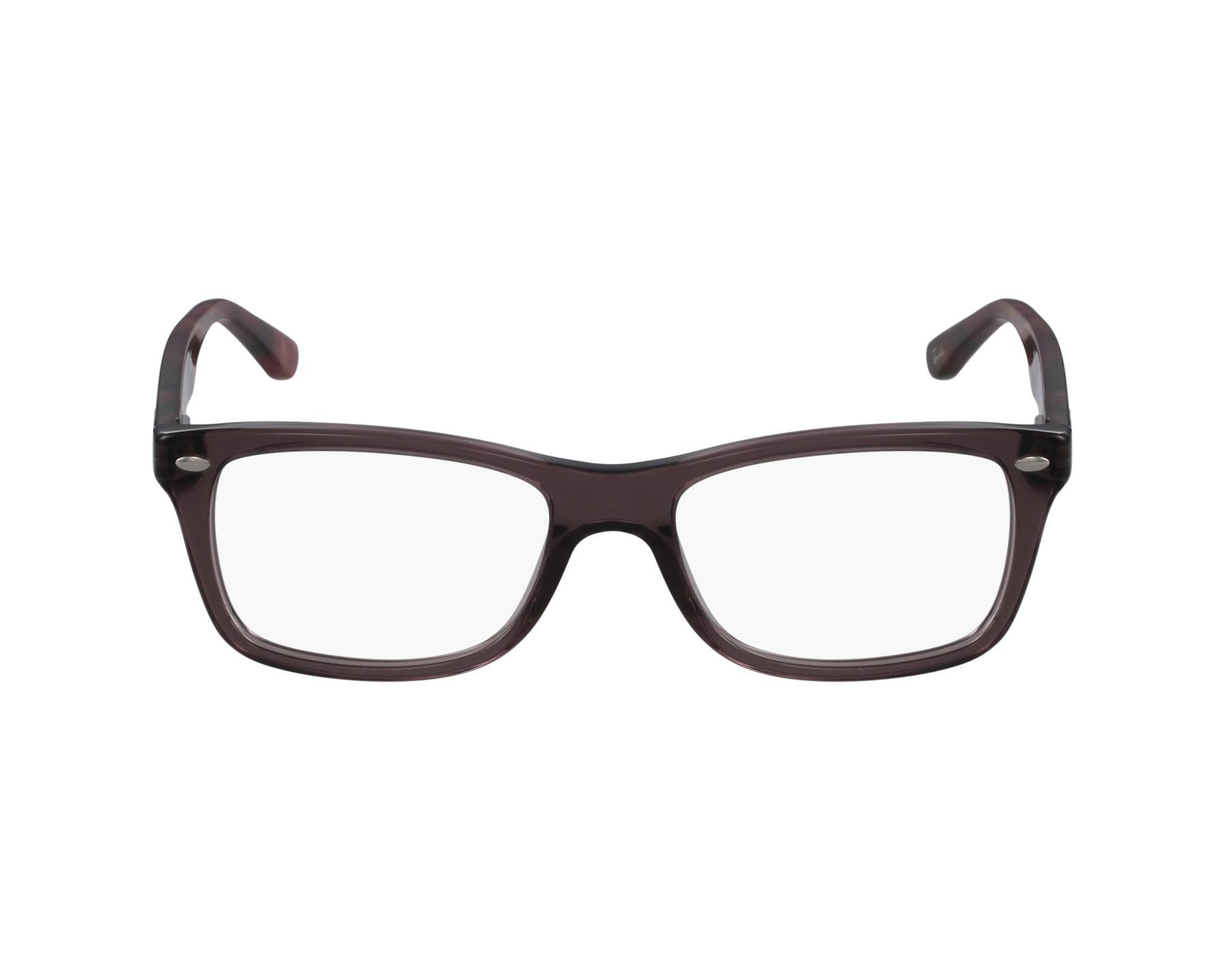dd2156a6e5 eyeglasses Ray-Ban RX-5228 5628 50-17 Plum profile view