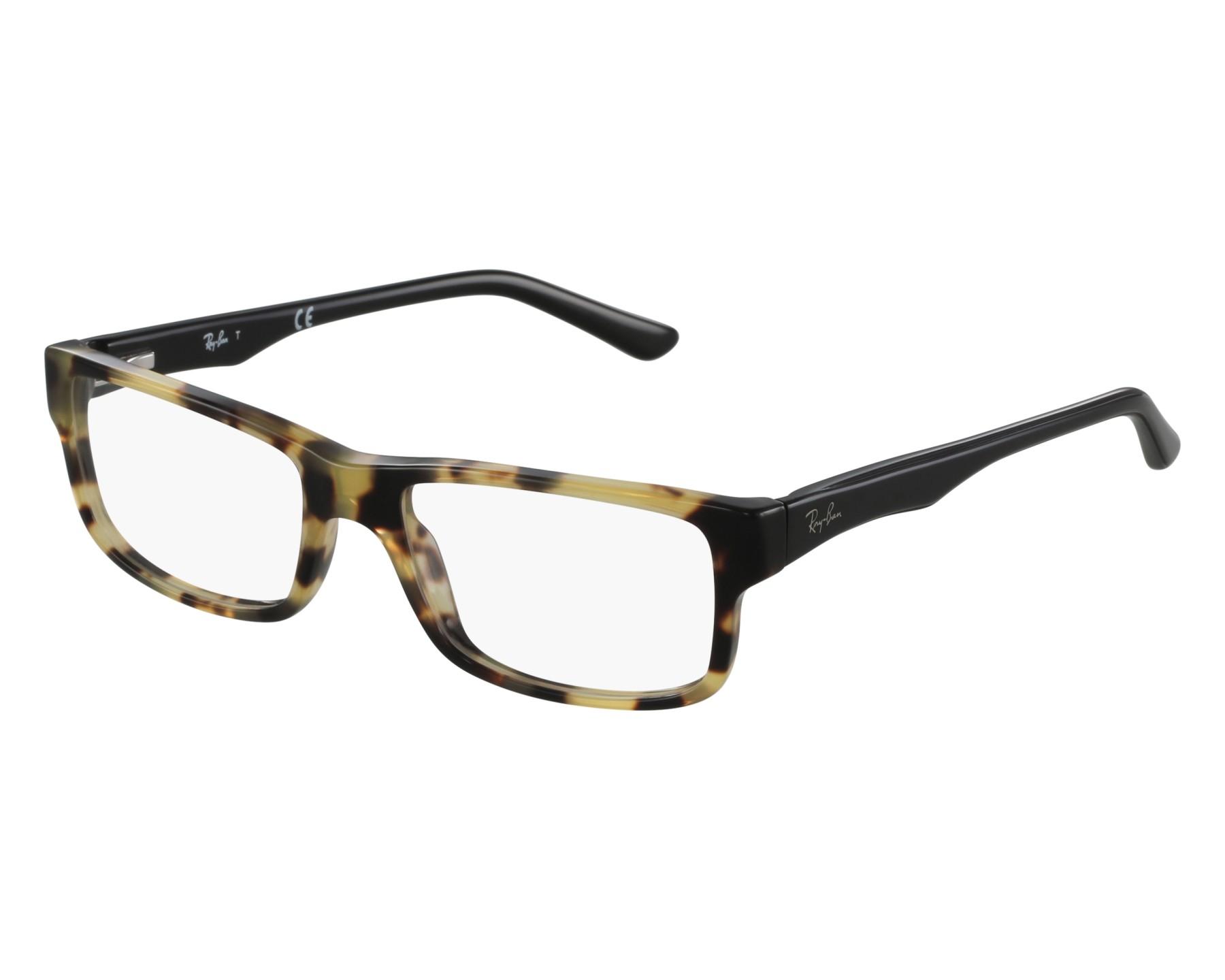 0608fd19cab eyeglasses Ray-Ban RX-5245 5608 52-17 Havana Black front view