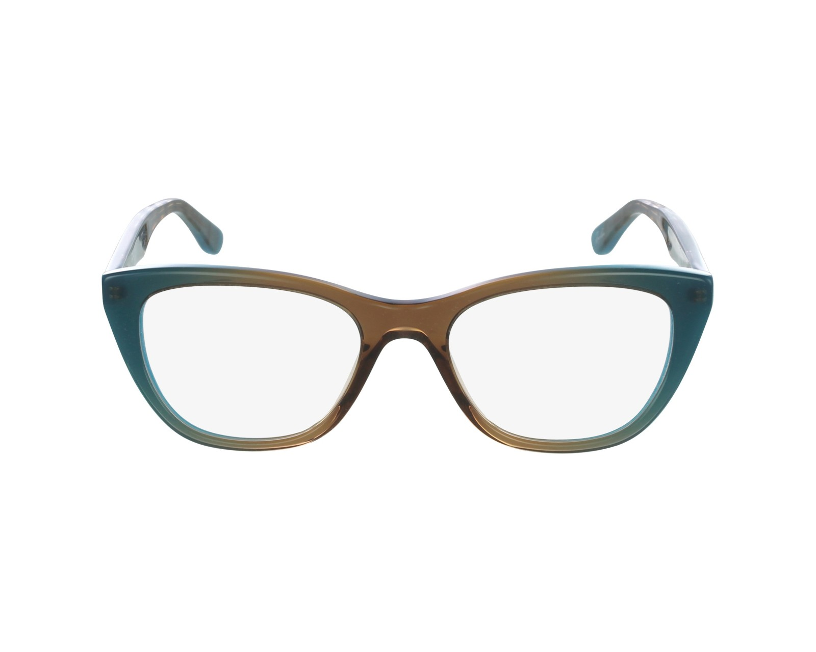 02aaadeabf eyeglasses Ray-Ban RX-5322 5490 - Turquoise Brown profile view