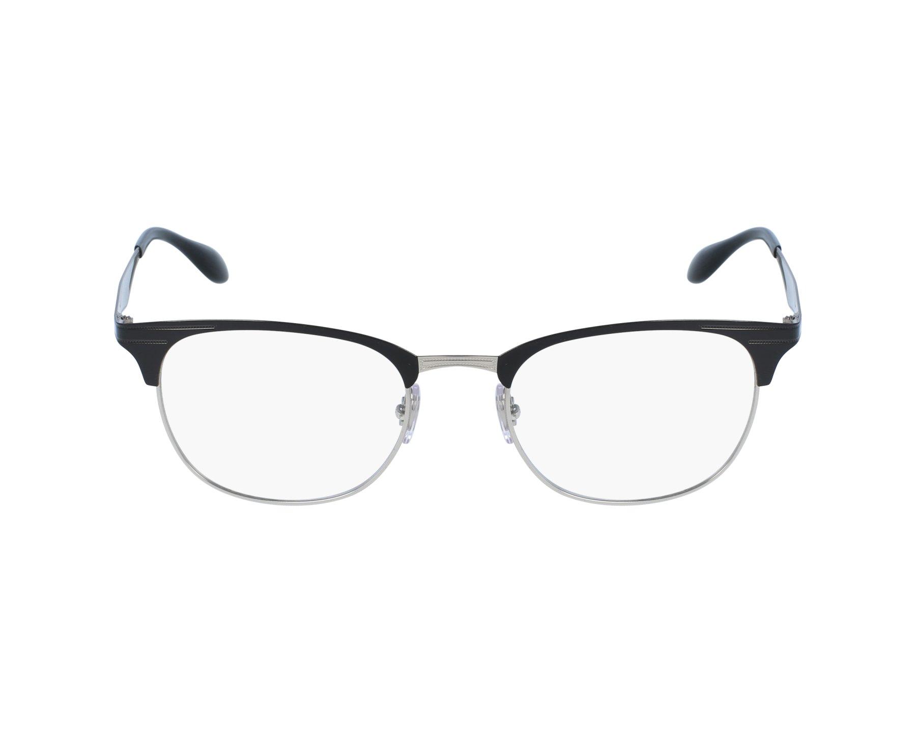 7b3a7b99ed eyeglasses Ray-Ban RX-6346 2861 - Black Silver profile view