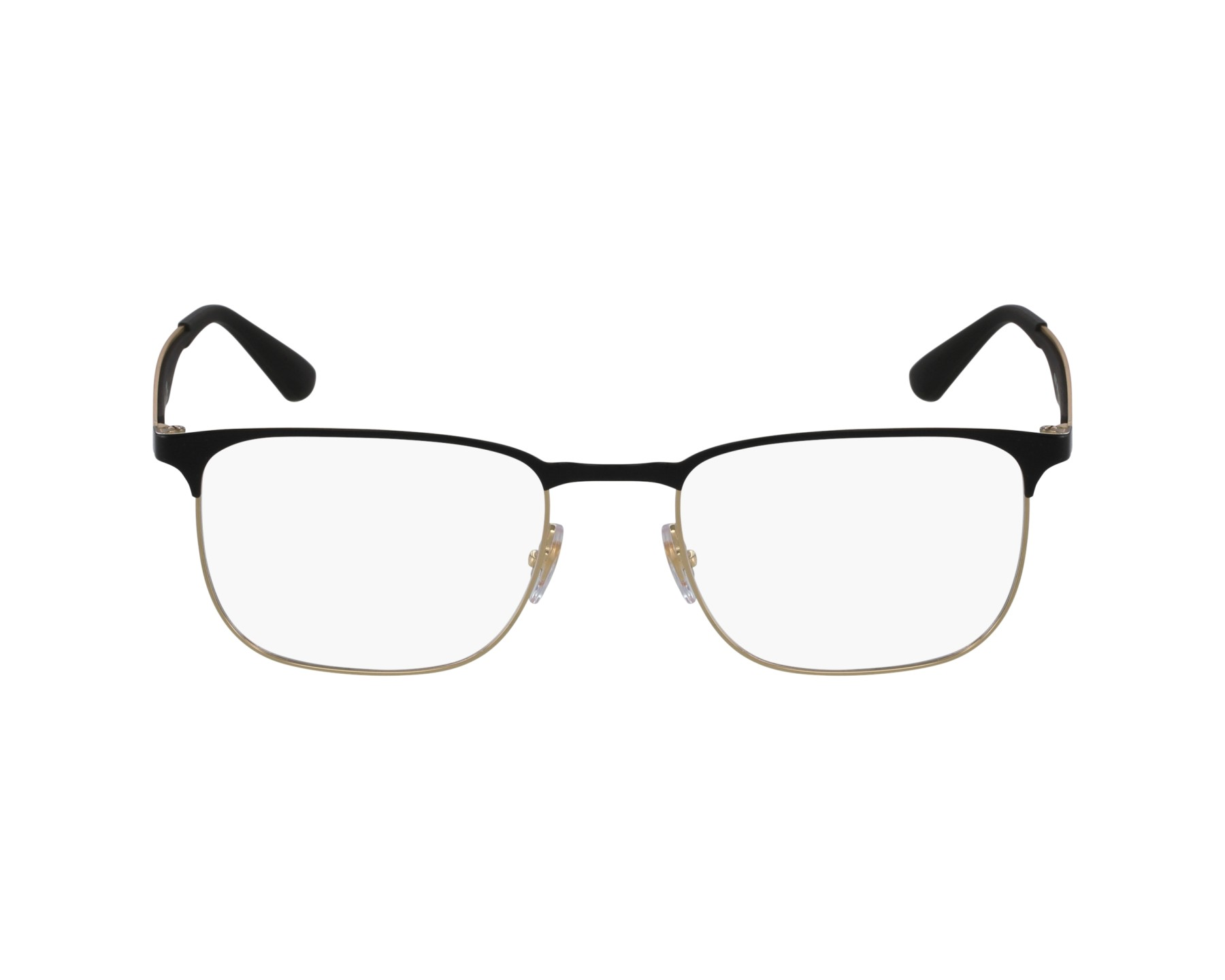 90b769d55b ... czech eyeglasses ray ban rx 6363 2890 54 18 black gold profile view  a0658 e8401