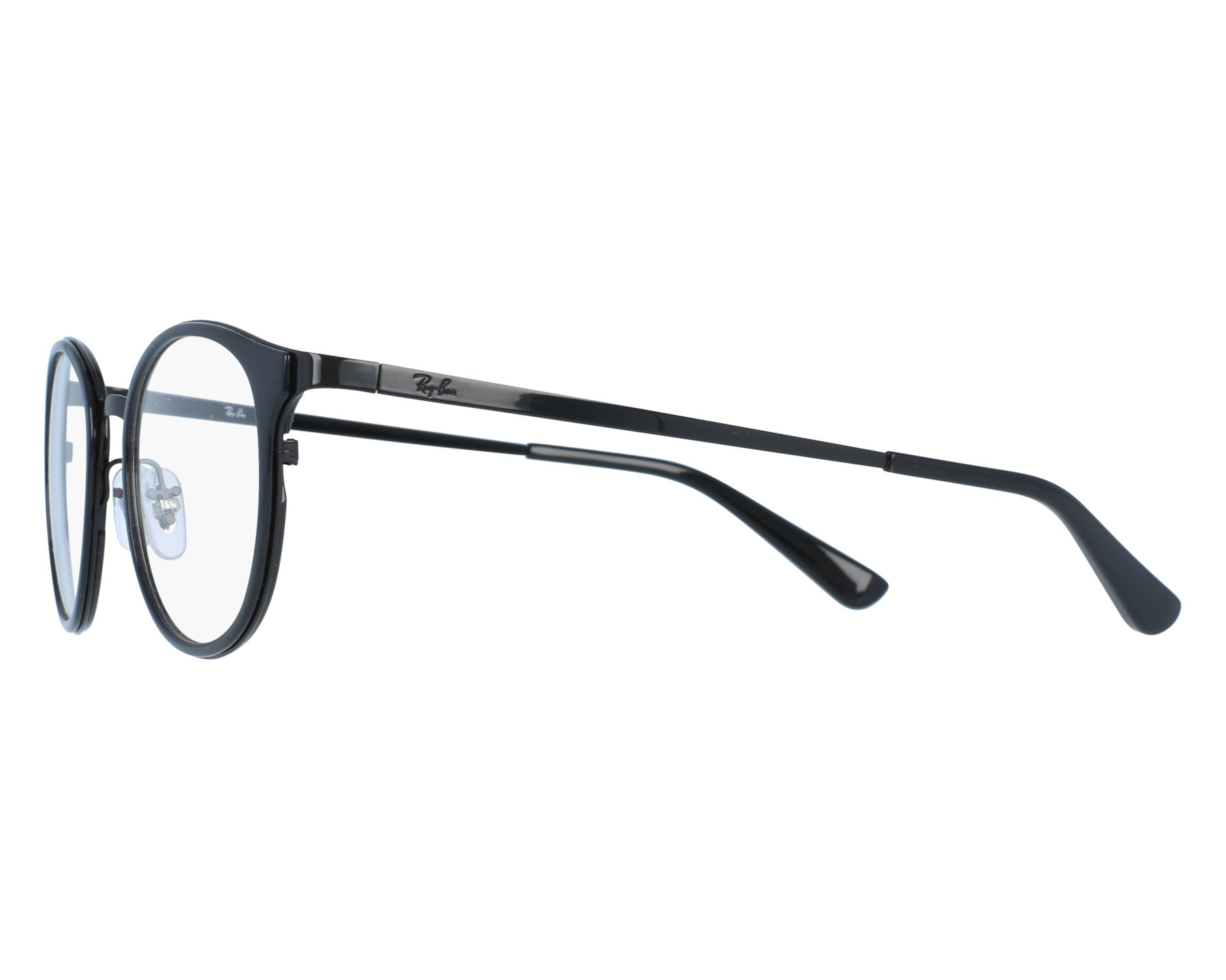cc3ea934d22a3 eyeglasses Ray-Ban RX-6372-M 2509 50-19 Black front view