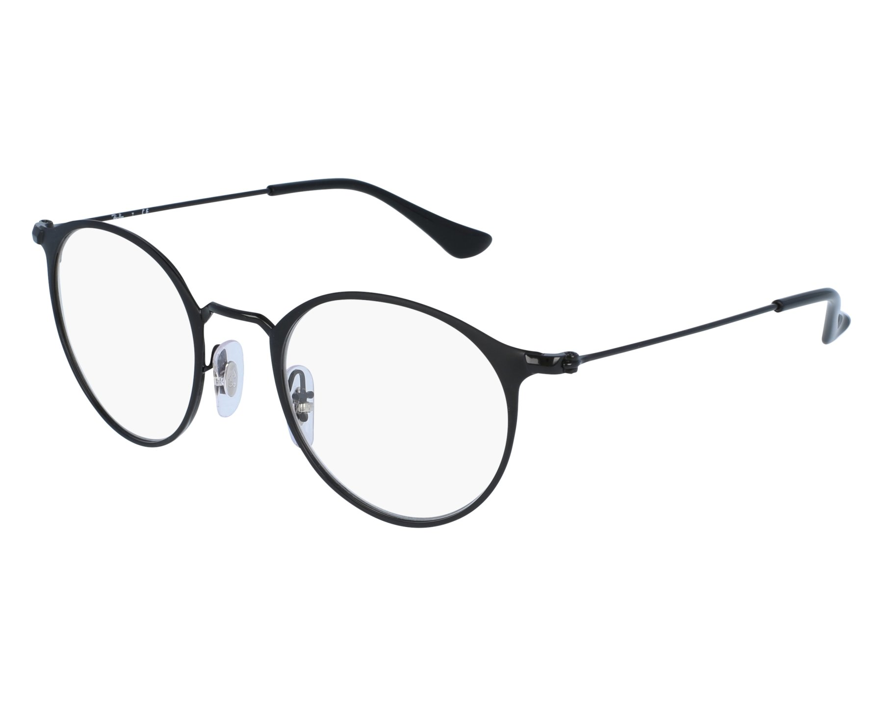 69be8f0a4cd7b eyeglasses Ray-Ban RX-6378 2904 47-21 Black front view
