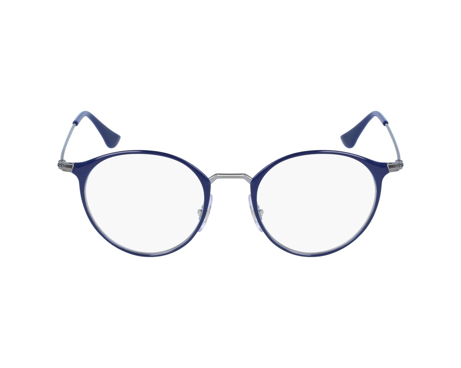 eyeglasses Ray-Ban RX-6378 2906 47-21 Blue Blue sky profile view 96c5a07a8b44