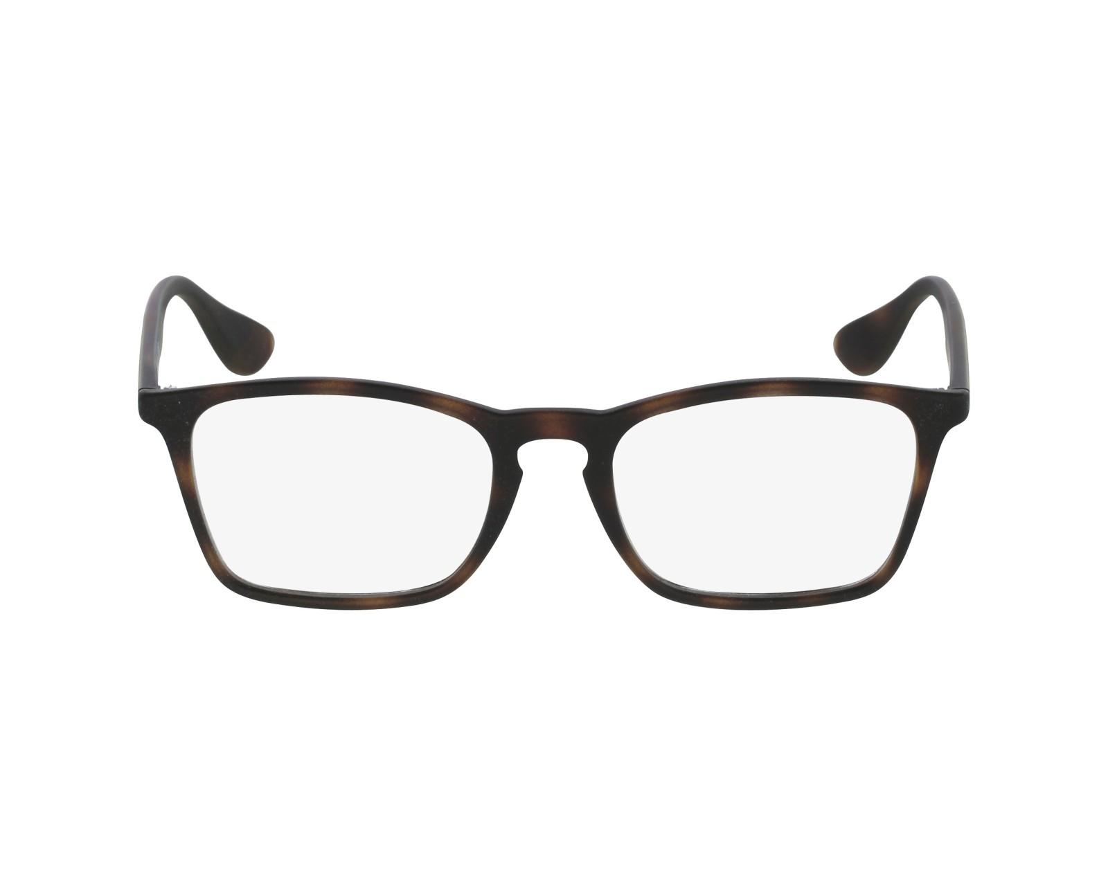 25e36c1318 eyeglasses Ray-Ban RX-7045 5365 53-18 Brown profile view