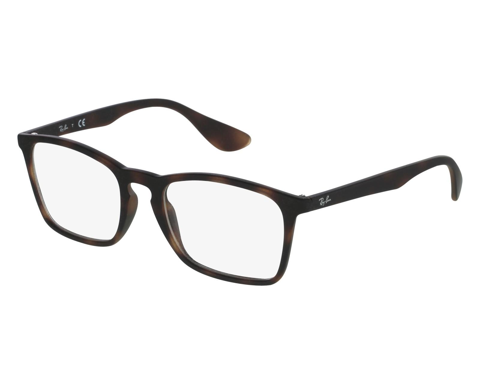 25cf60362dd eyeglasses Ray-Ban RX-7045 5365 53-18 Brown front view