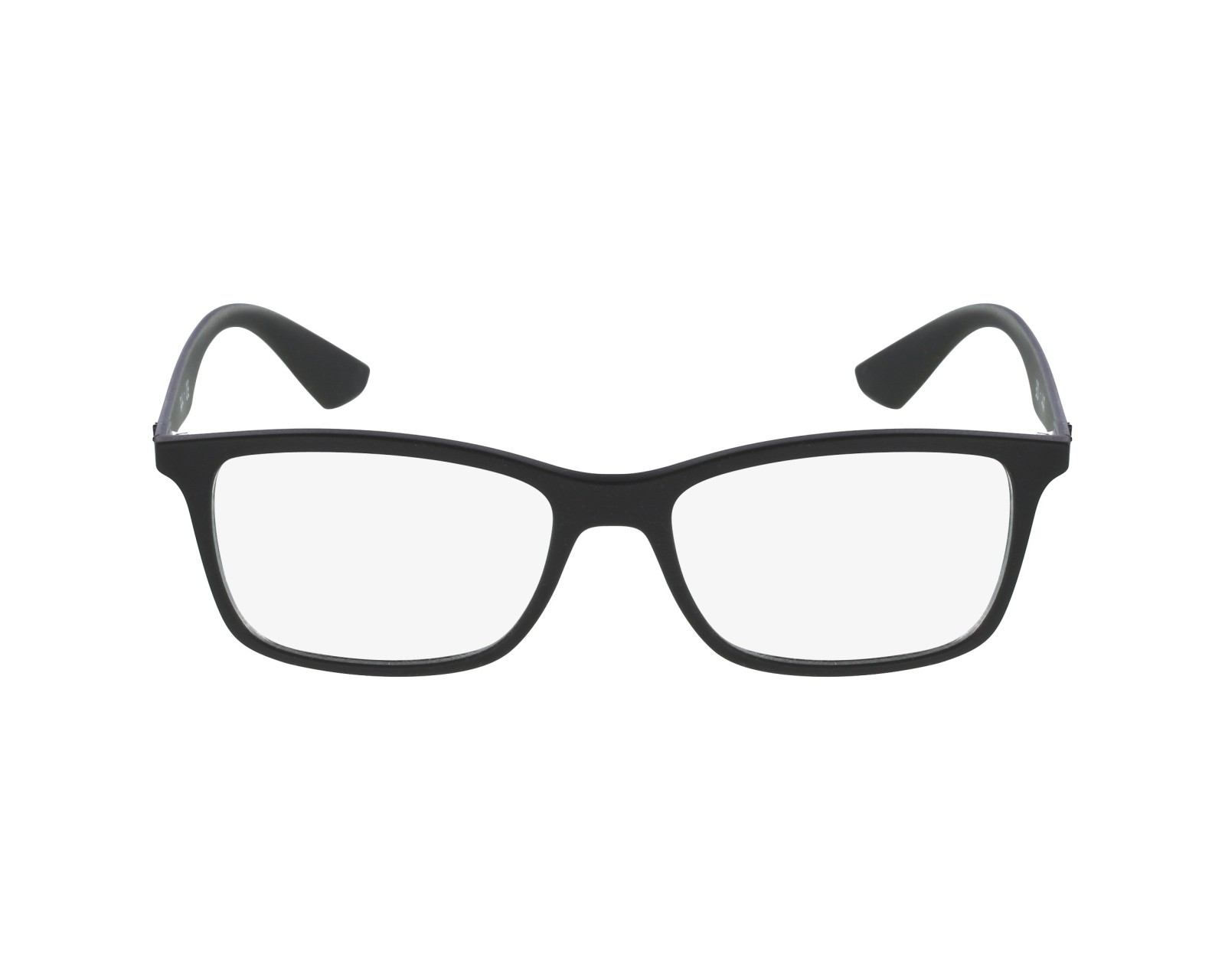 e5a07596c2 eyeglasses Ray-Ban RX-7047 5196 54-17 Black profile view