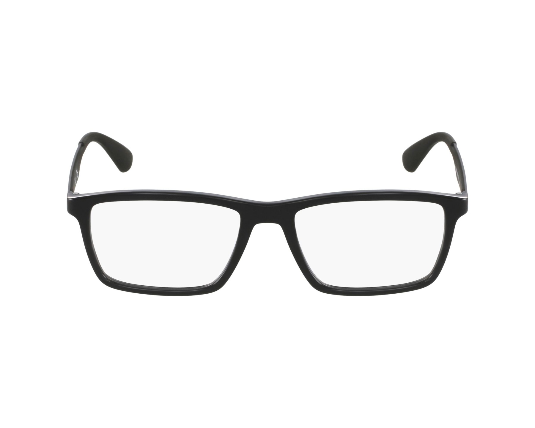 130e6d73910d eyeglasses Ray-Ban RX-7056 2000 53-17 Black Black profile view