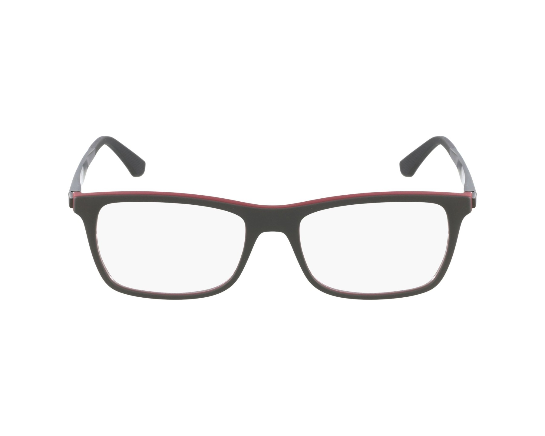 1be9106d1d eyeglasses Ray-Ban RX-7062 5576 - Grey Red profile view