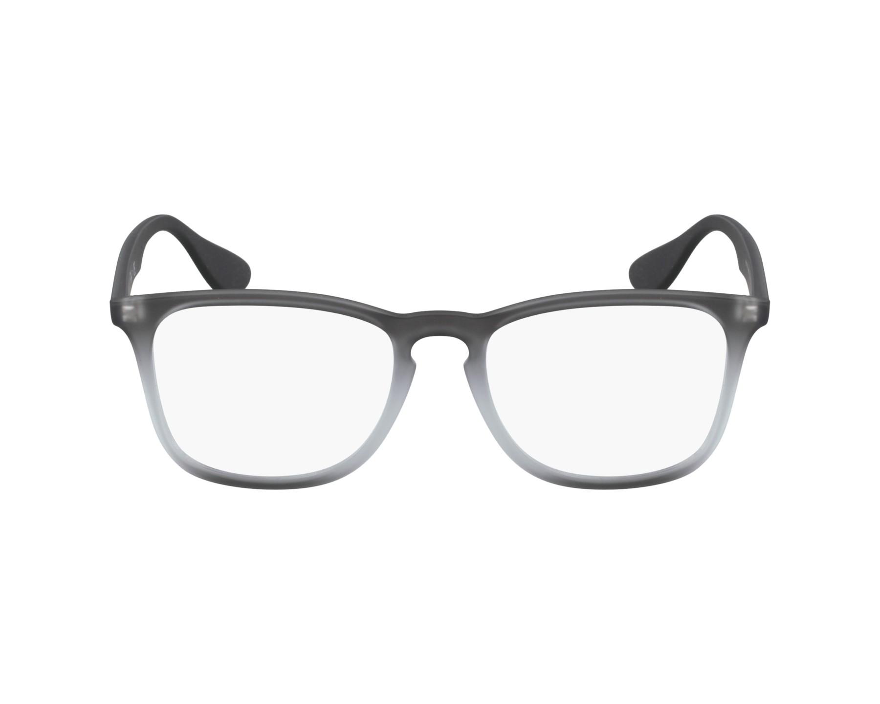 dfcbf5173c4 eyeglasses Ray-Ban RX-7074 5602 - Grey profile view