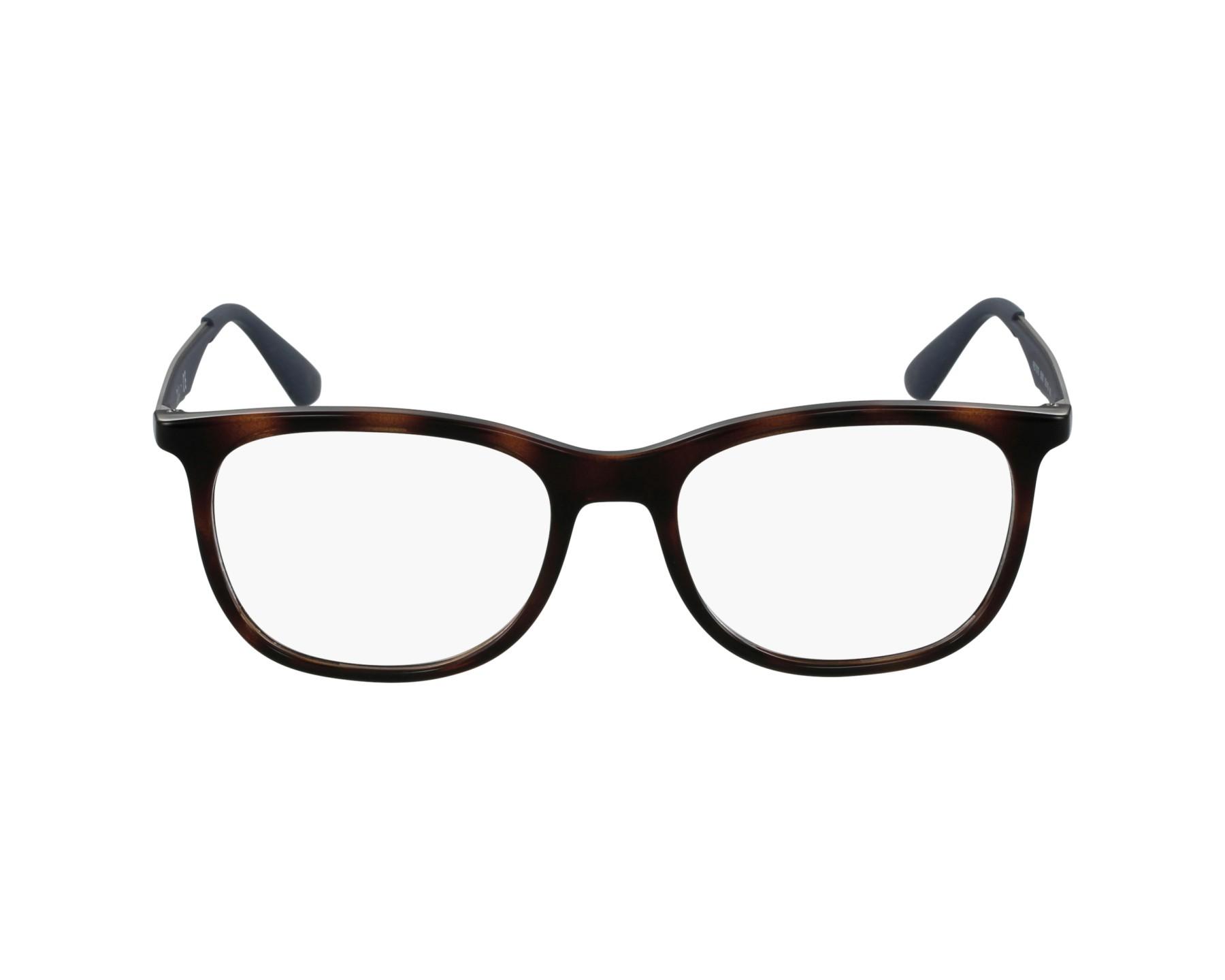 db4c4150815 eyeglasses Ray-Ban RX-7078 5599 53-18 Havana Blue profile view