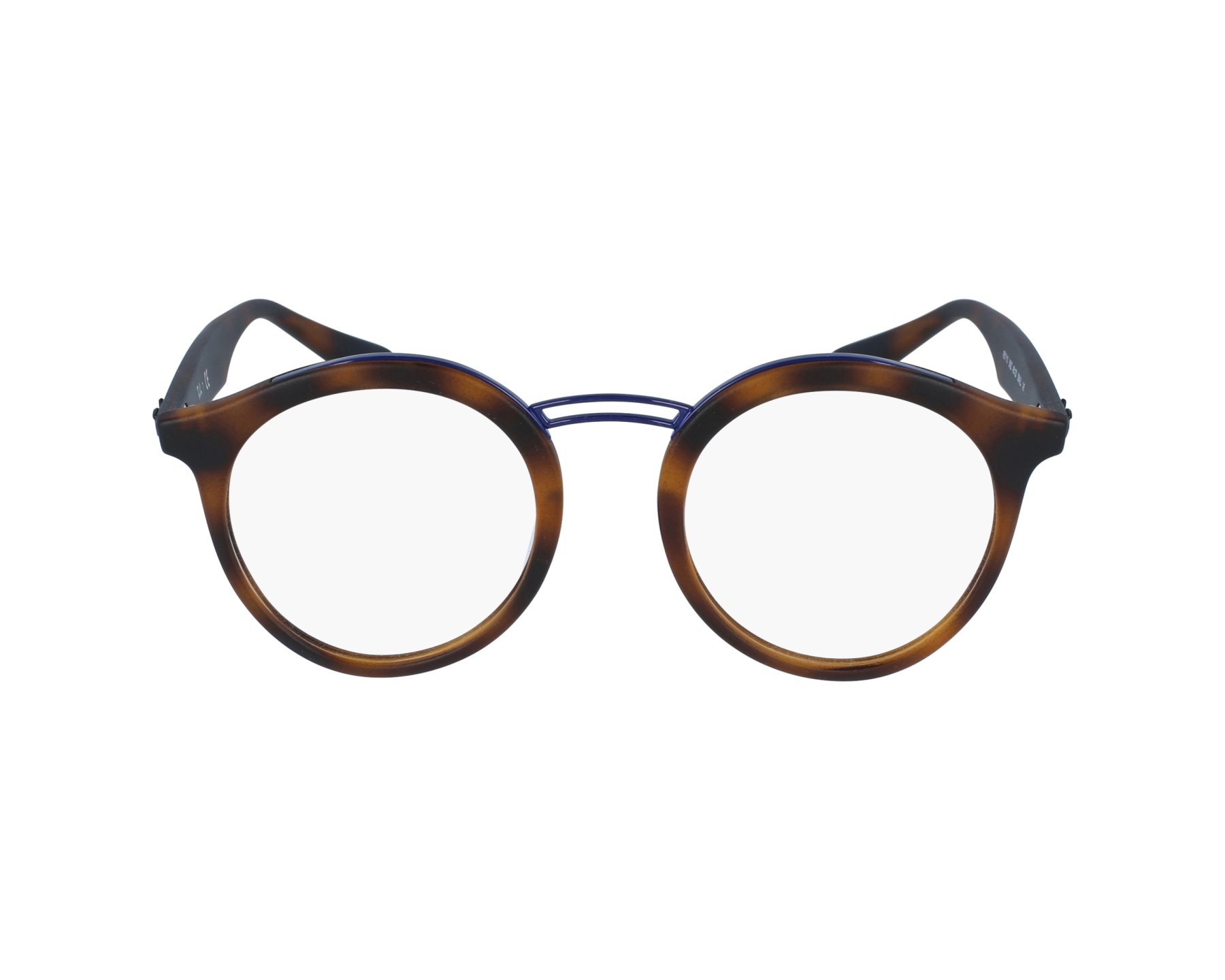 aed645dcb4c eyeglasses Ray-Ban RX-7110 5692 - Havana Blue denim profile view