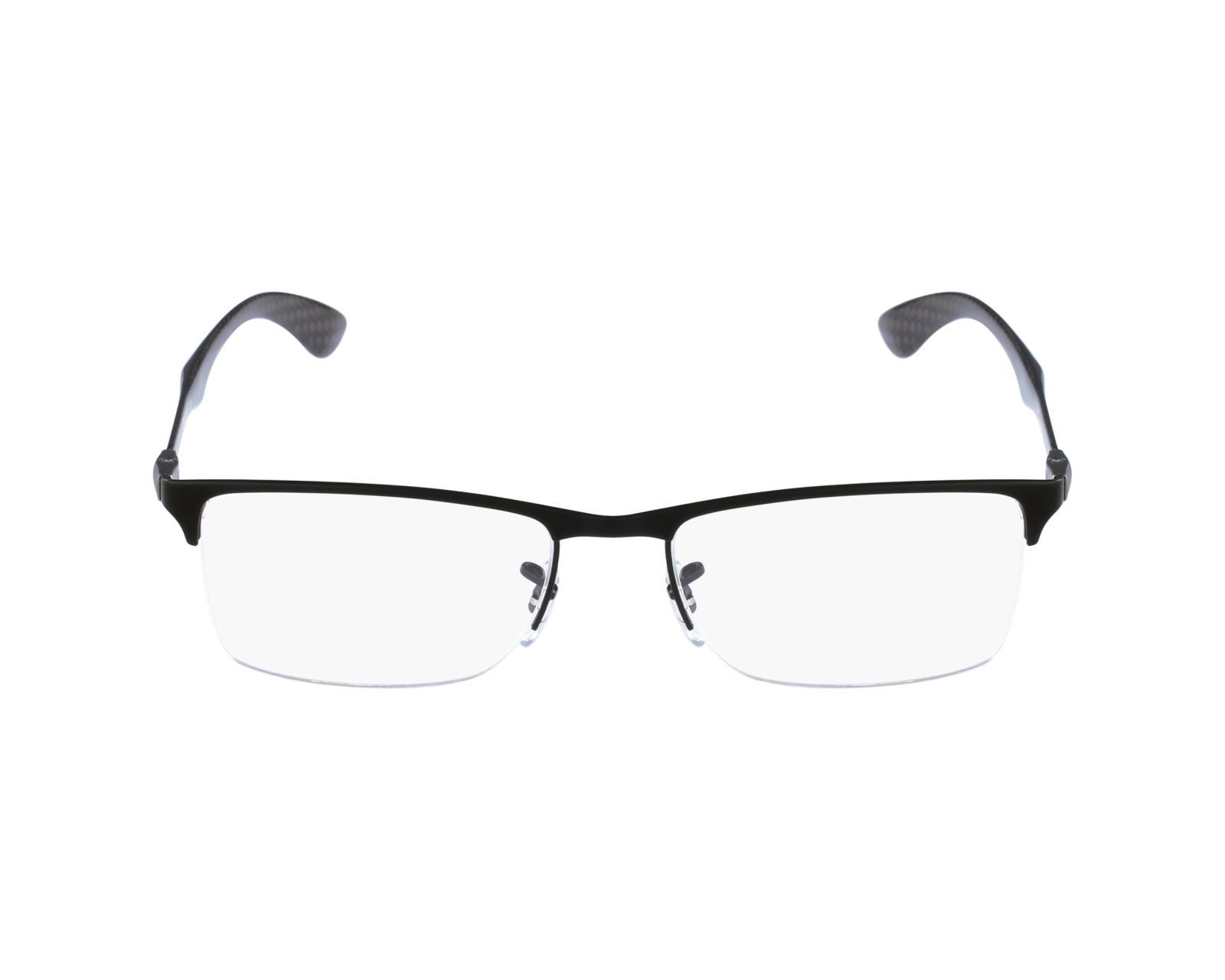 33ad79b416f9 eyeglasses Ray-Ban RX-8413 2503 52-18 Black profile view