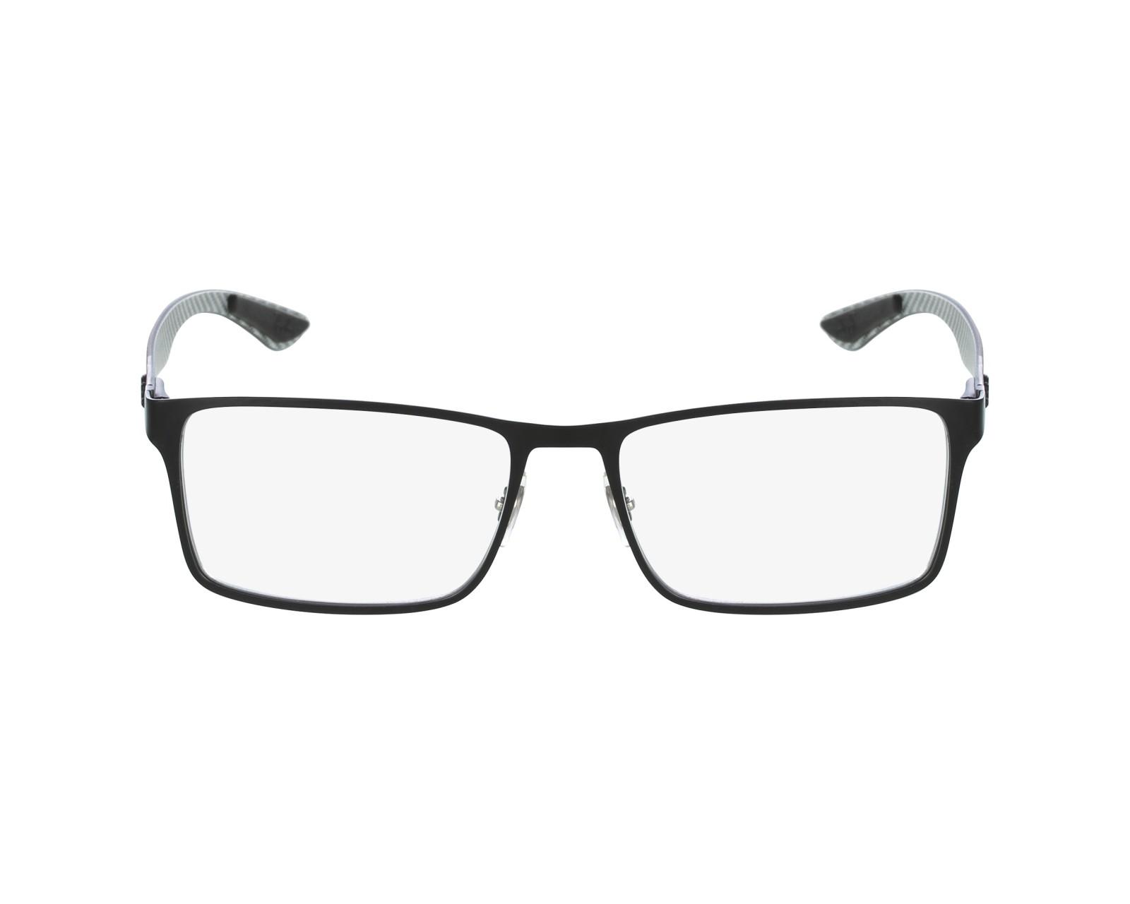 f985df7c51 eyeglasses Ray-Ban RX-8415 2503 53-17 Black Grey profile view