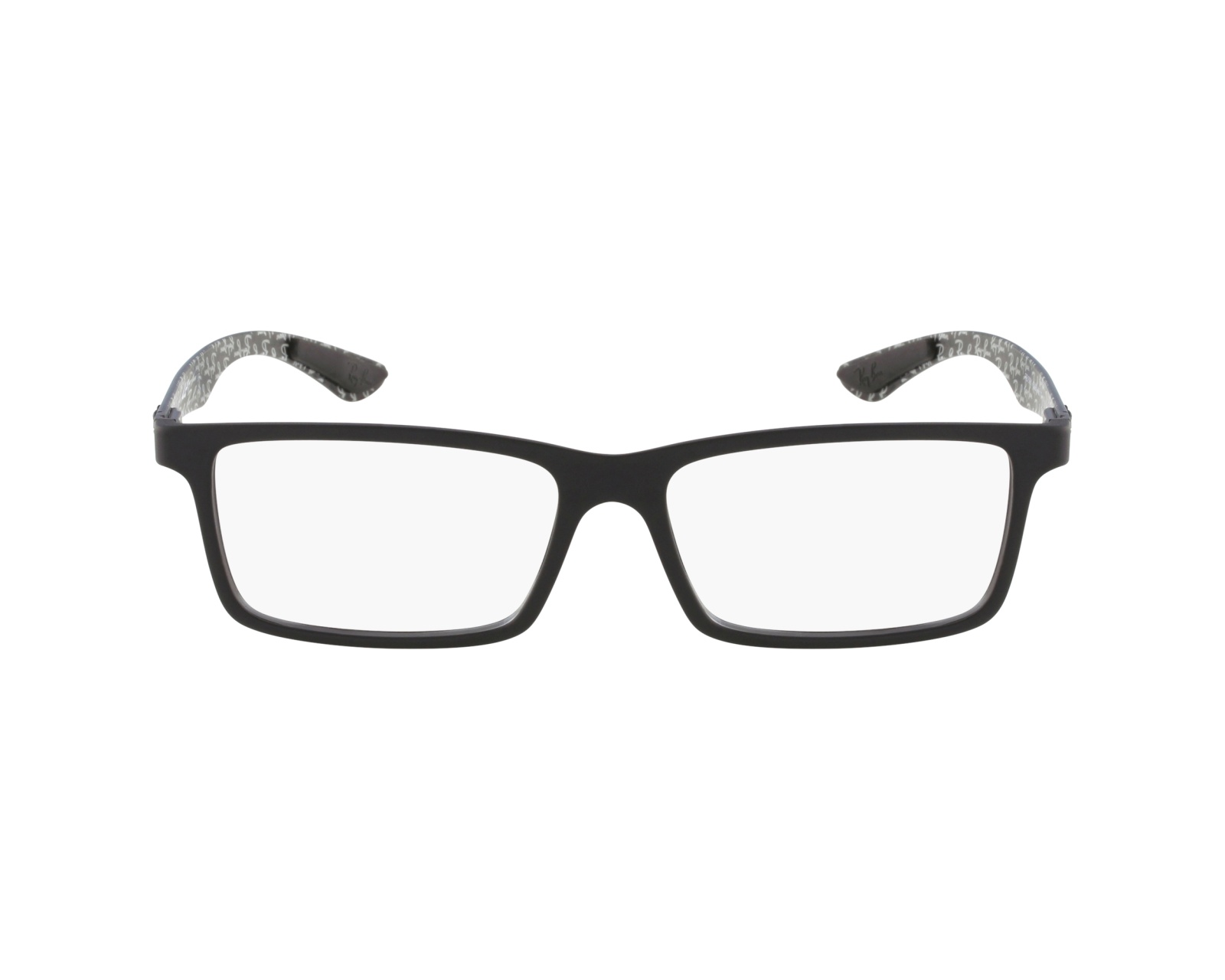 6cae2a4eac eyeglasses Ray-Ban RX-8901 5263 53-17 Black profile view