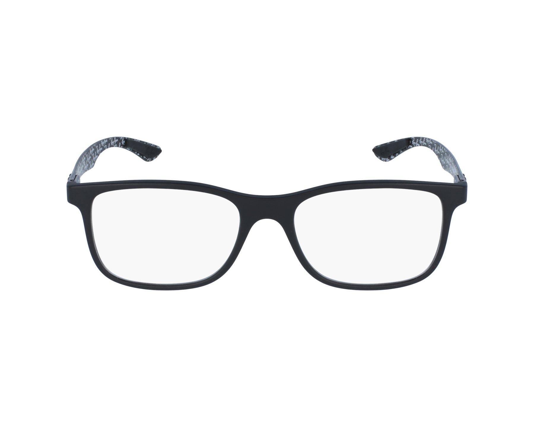 3ddbce0b57 eyeglasses Ray-Ban RX-8903 5263 53-18 Black Carbon profile view