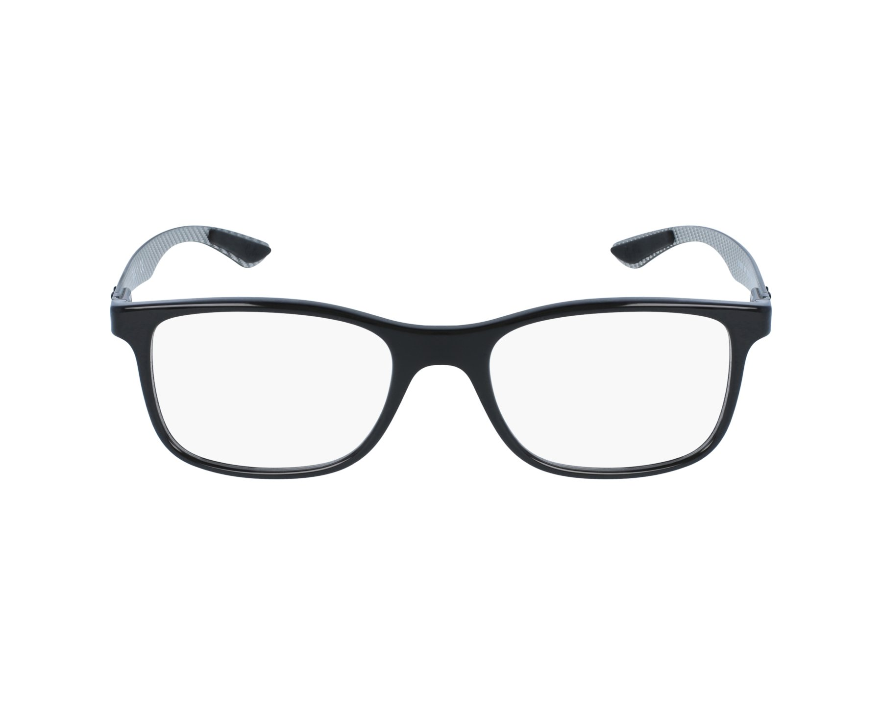 6049baf26d eyeglasses Ray-Ban RX-8903 5681 55-18 Black Carbon profile view