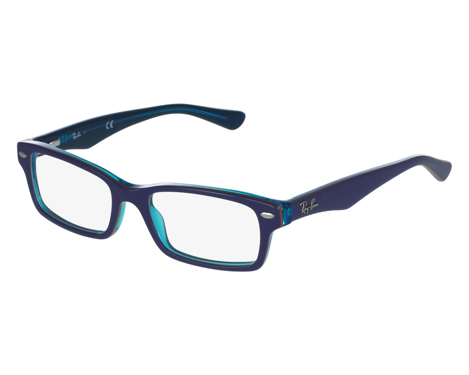 9fd6e7e55a eyeglasses Ray-Ban RY-1530 3587 48-16 Blue front view
