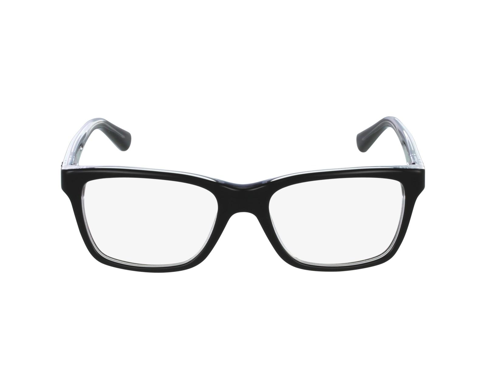 703b582002 eyeglasses Ray-Ban RY-1536 3529 48-16 Black Crystal profile view
