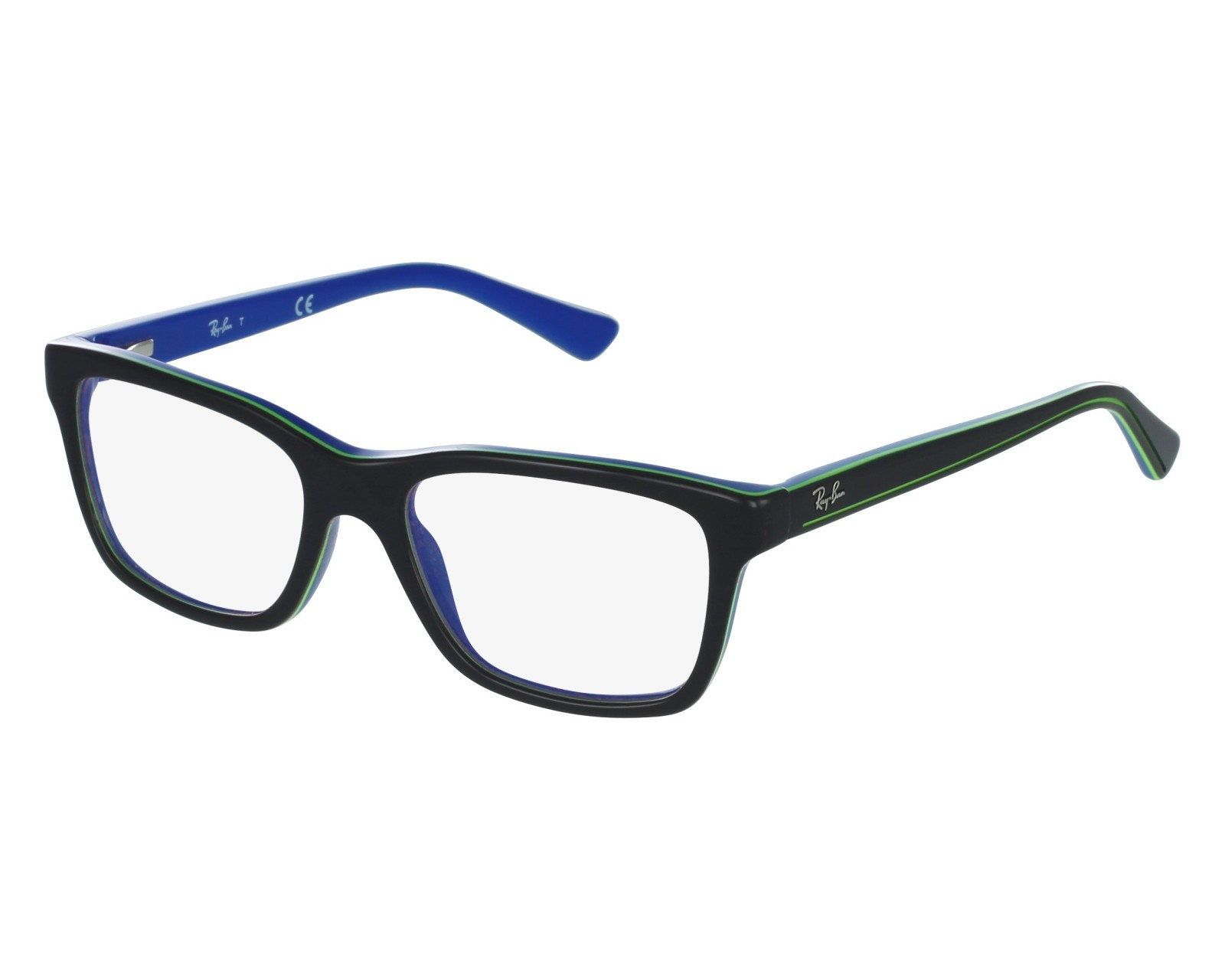 35df070bd5c eyeglasses Ray-Ban RY-1536 3600 - Black Blue front view