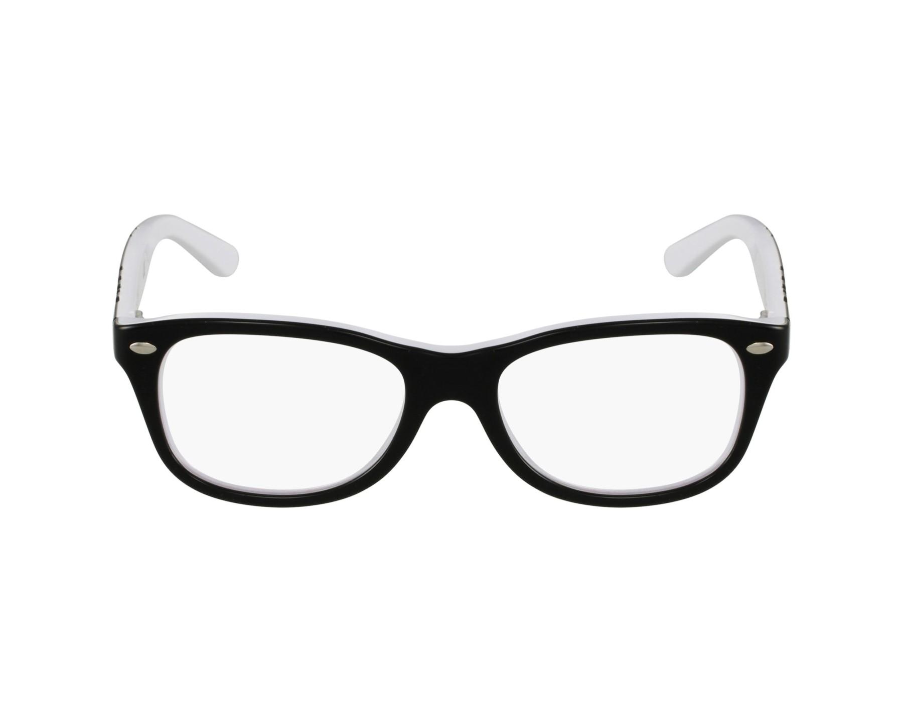 f215010f28e9ec eyeglasses Ray-Ban RY-1544 3579 48-18 Black White profile view