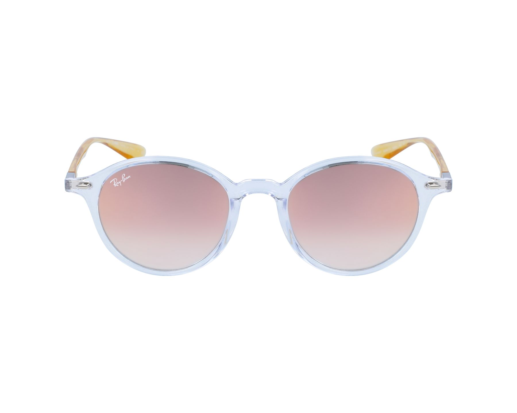 584d8562159 Sunglasses Ray-Ban RB-4237 62887Y 50-21 White Yellow profile view