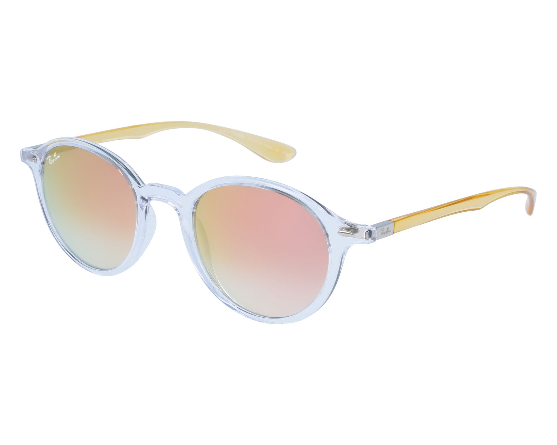 05566673f3f Sunglasses Ray-Ban RB-4237 62887Y 50-21 White Yellow front view
