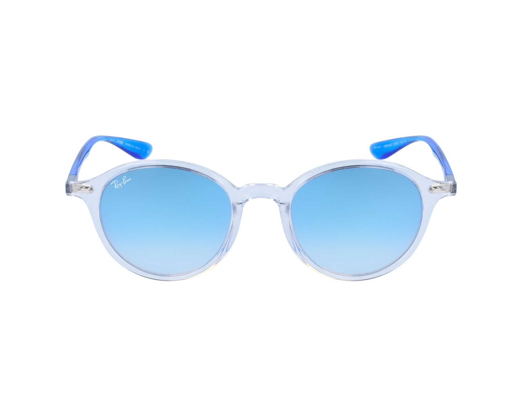 038c5860bb3 Sunglasses Ray-Ban RB-4237 62894O 50-21 White Blue profile view