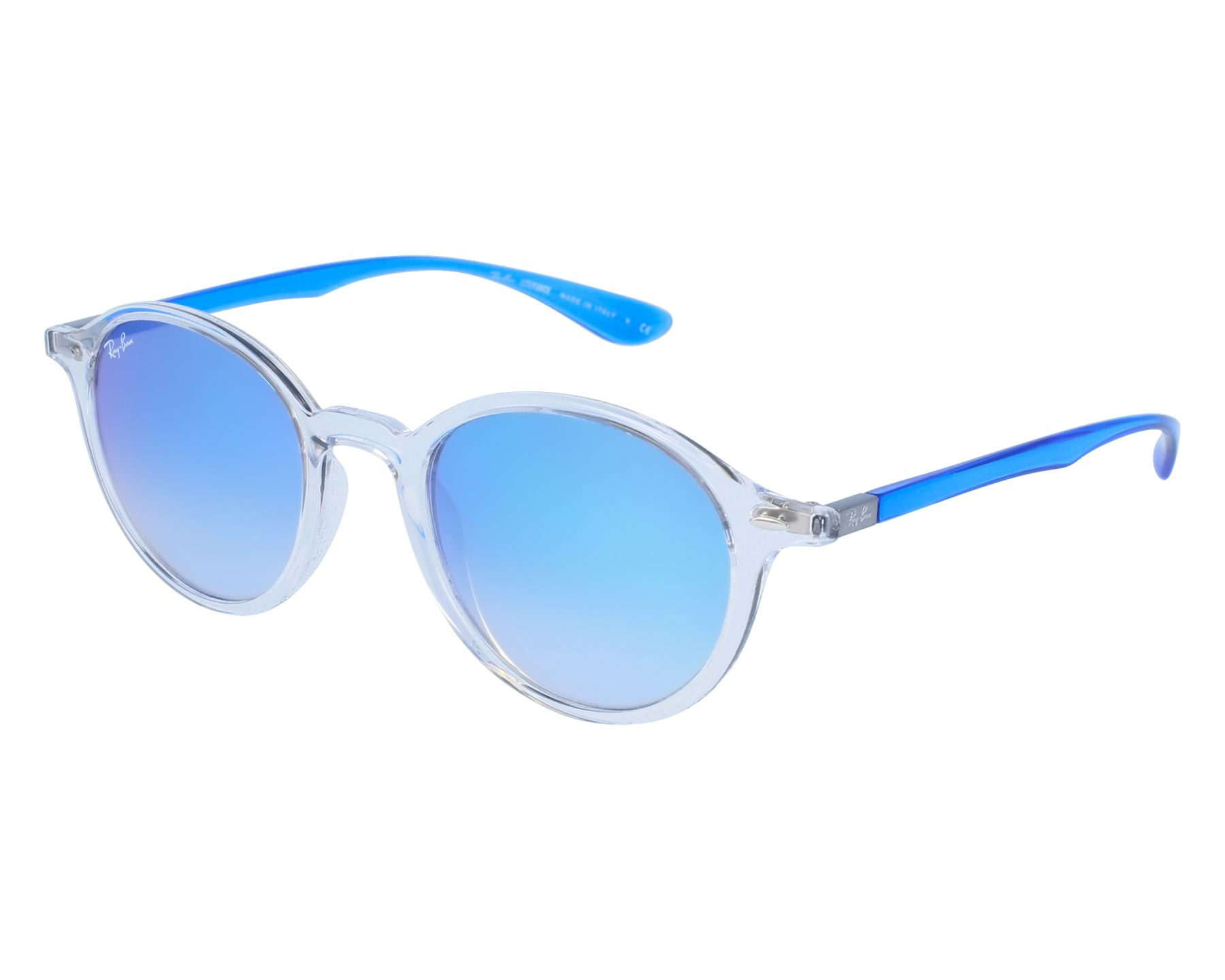 29d11579fee Sunglasses Ray-Ban RB-4237 62894O 50-21 White Blue front view