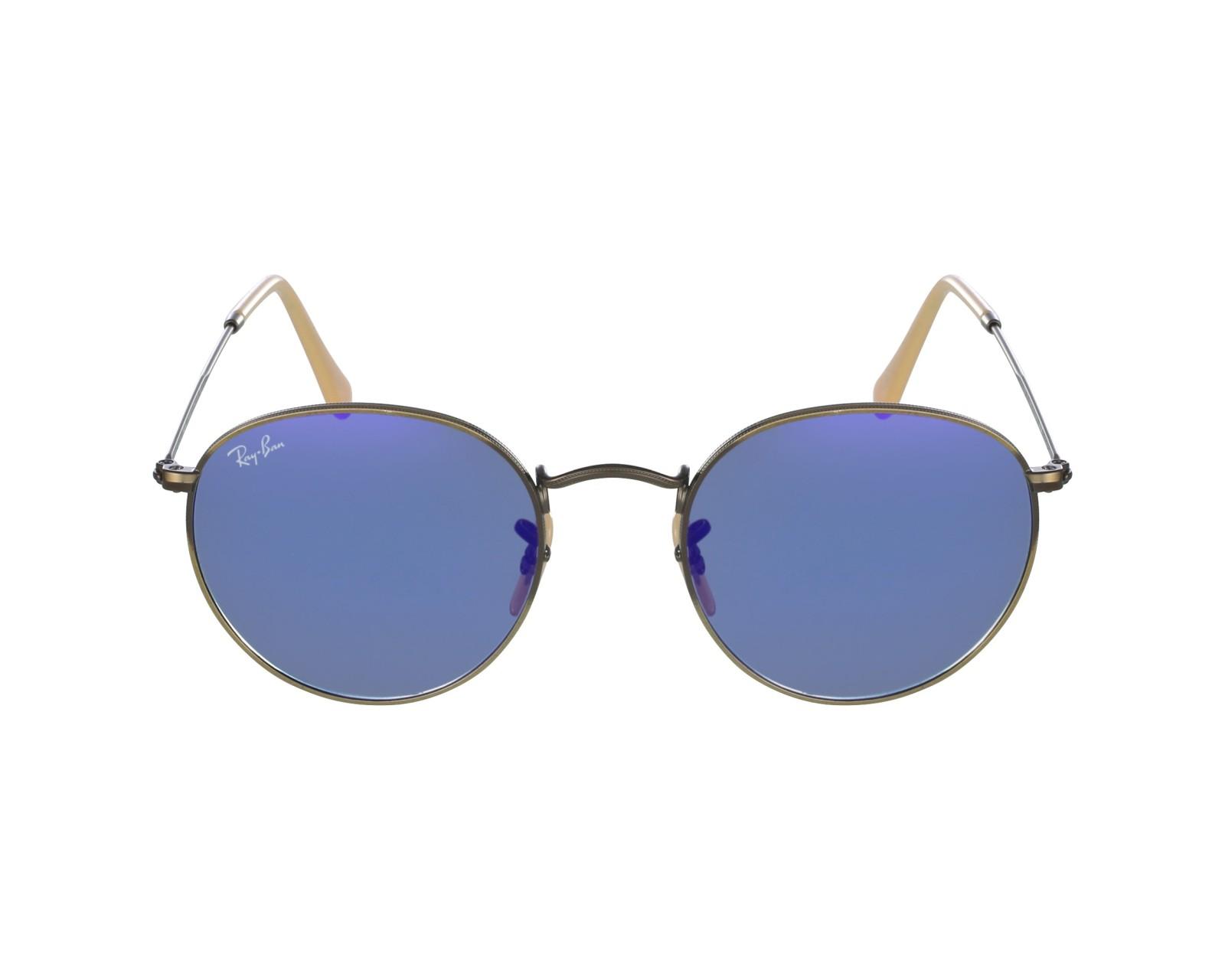 46e7a44e15b thumbnail Sunglasses Ray-Ban RB-3447 167 68 - Bronze profile view
