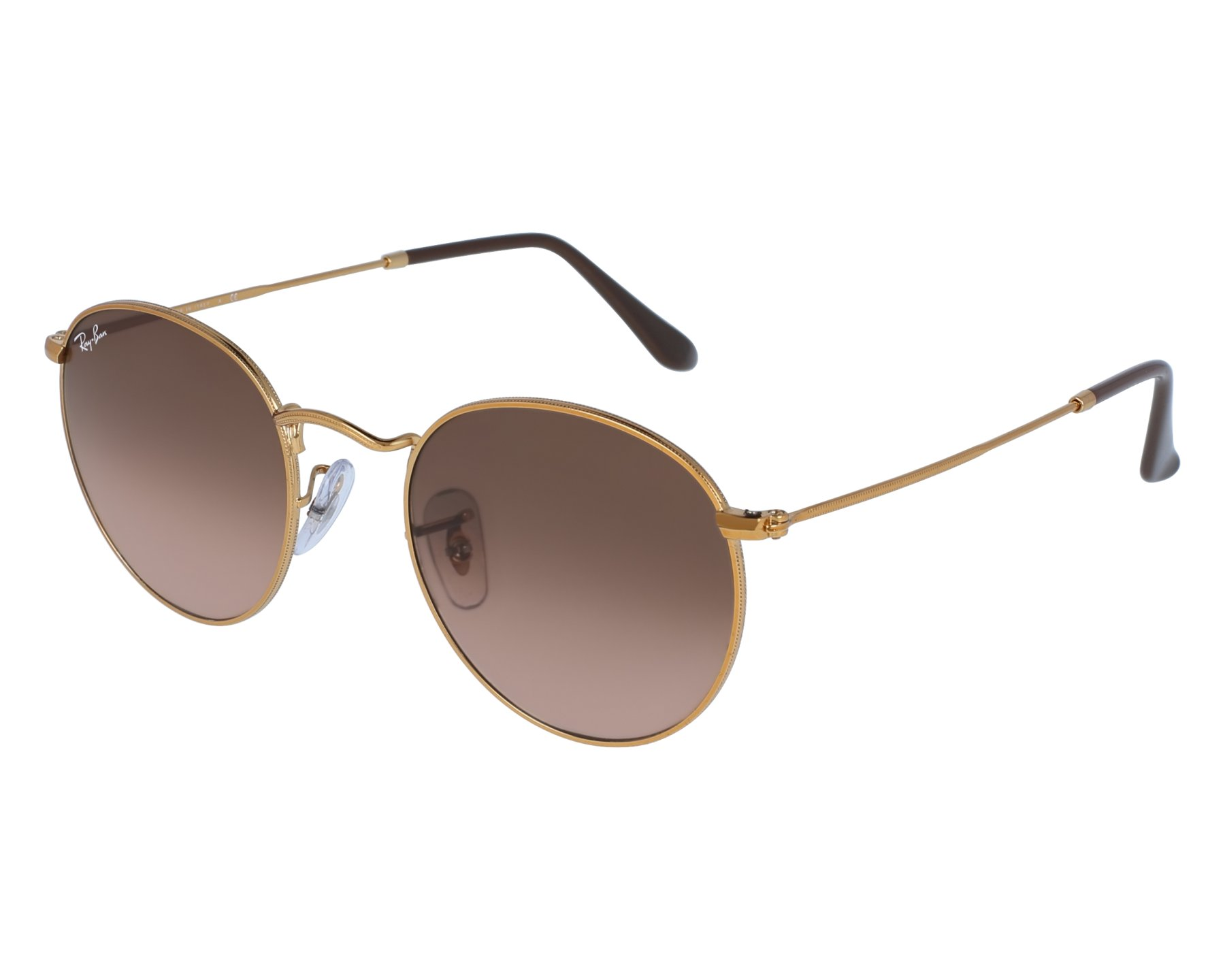 3c56702de2 Sunglasses Ray-Ban RB-3447 9001 A5 50-21 Gold front view
