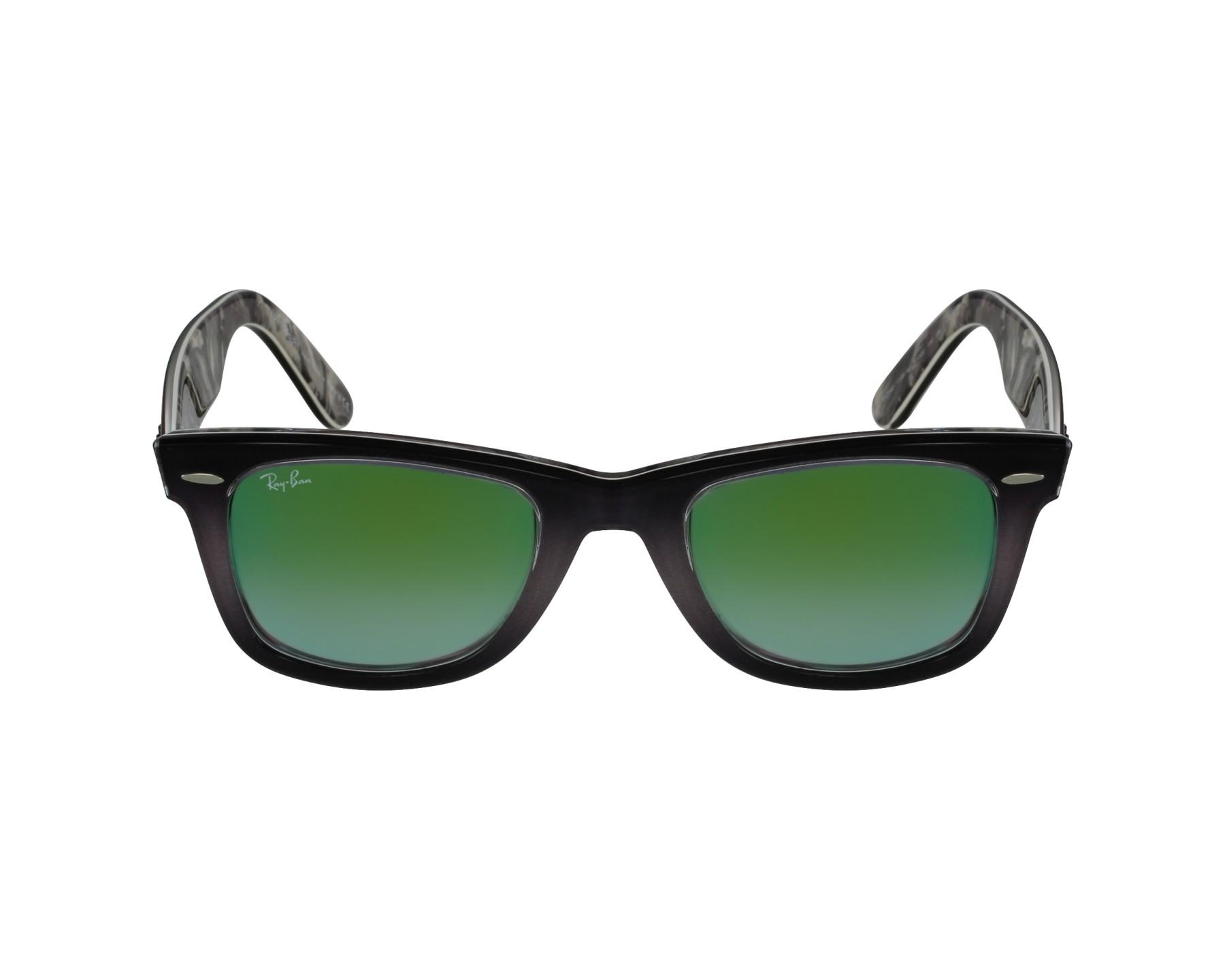 ba7b3b14a thumbnail Sunglasses Ray-Ban RB-2140 1199/4J - Grey Black profile view